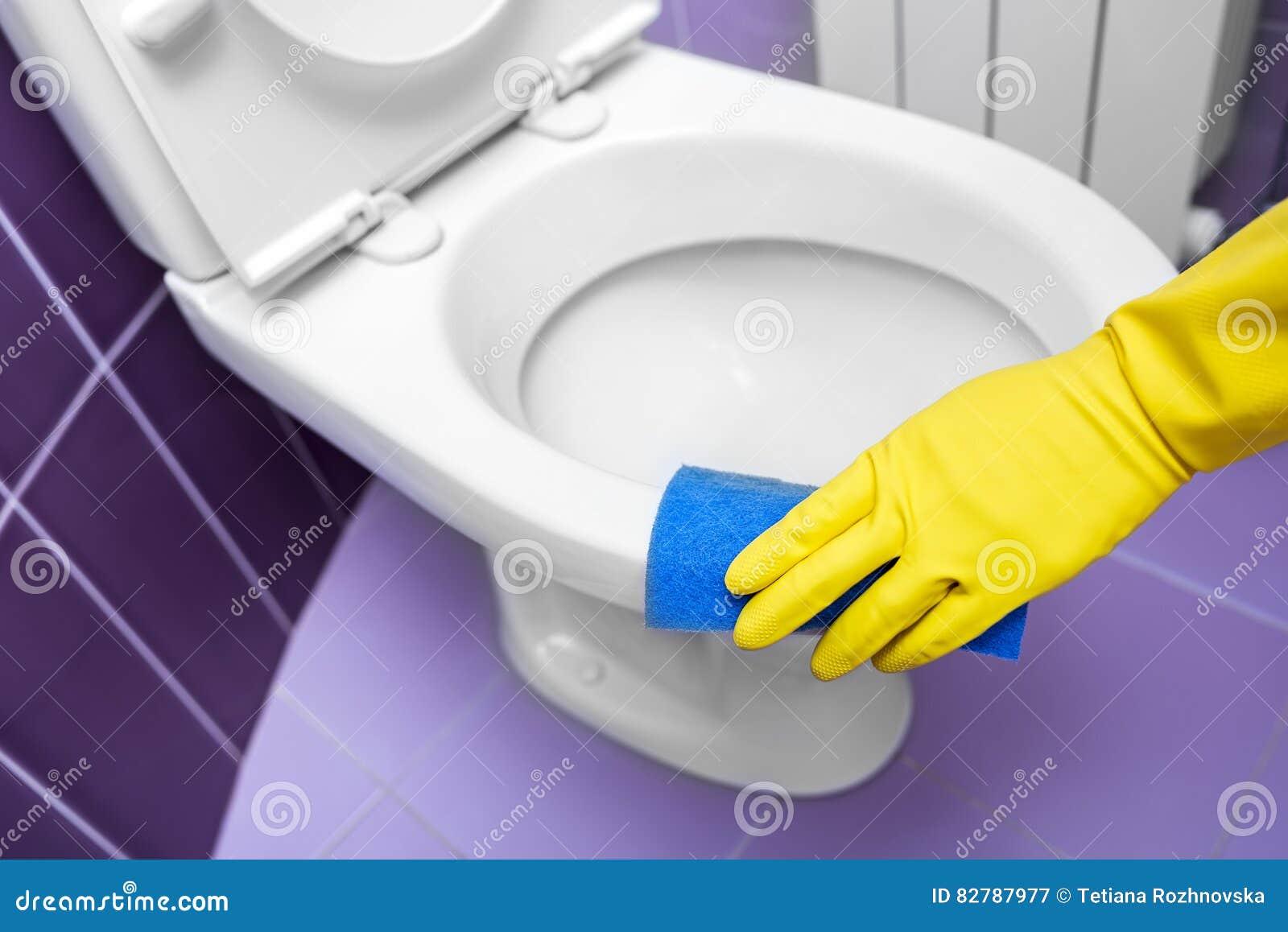 Hände Waschen Die Toilette Stockbild Bild Von Reinigend 82787977