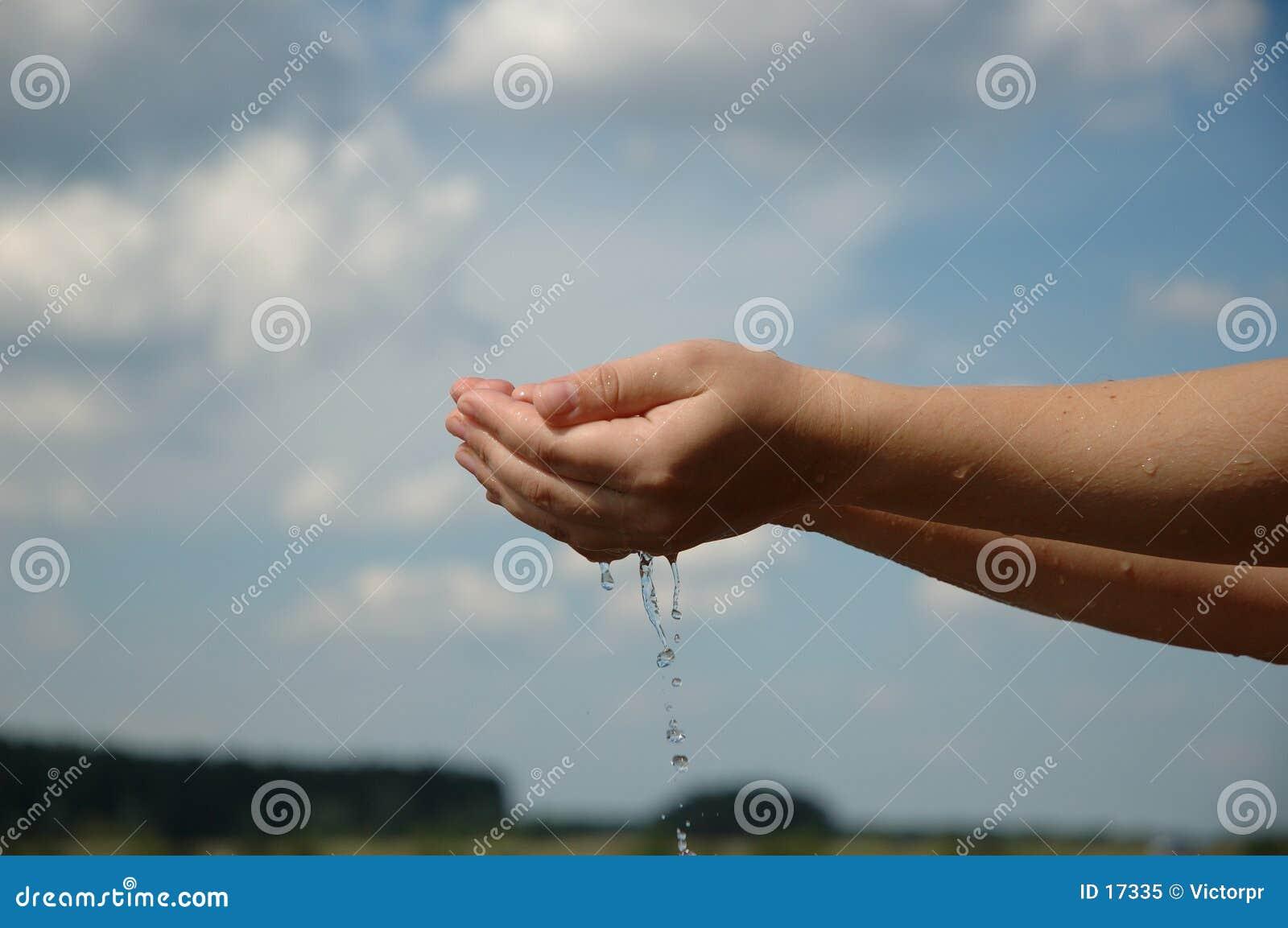 Hände in Wasser 3