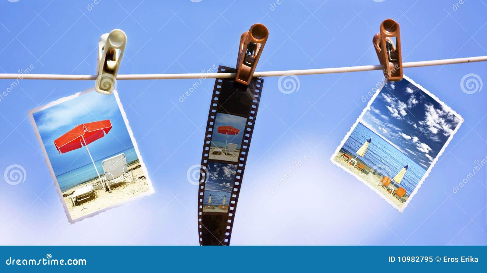 Hängande fotorep