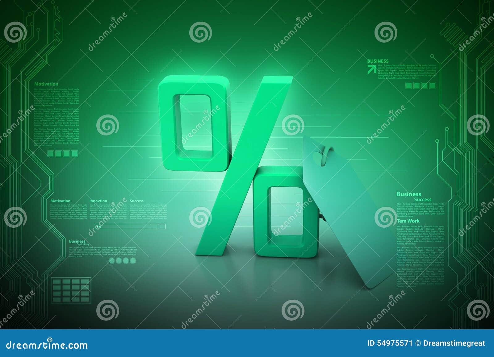 Hänge med procenttecknet