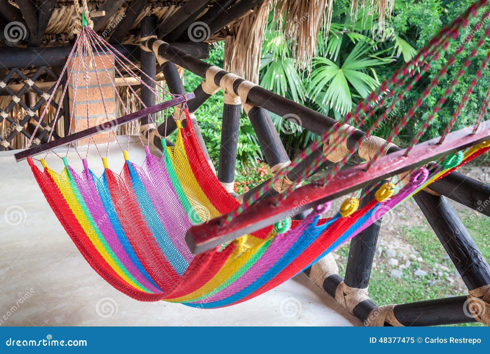 Hangematte Stockbild Bild Von Balkon Relax Hangematte 48377475