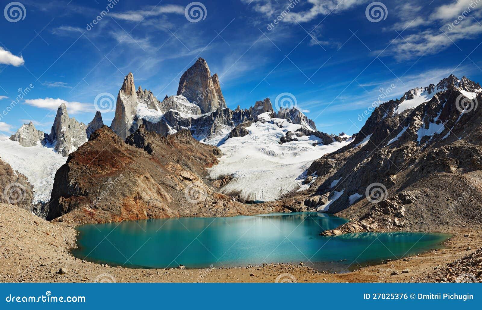 Hängen Sie Fitz Roy, Patagonia, Argentinien ein