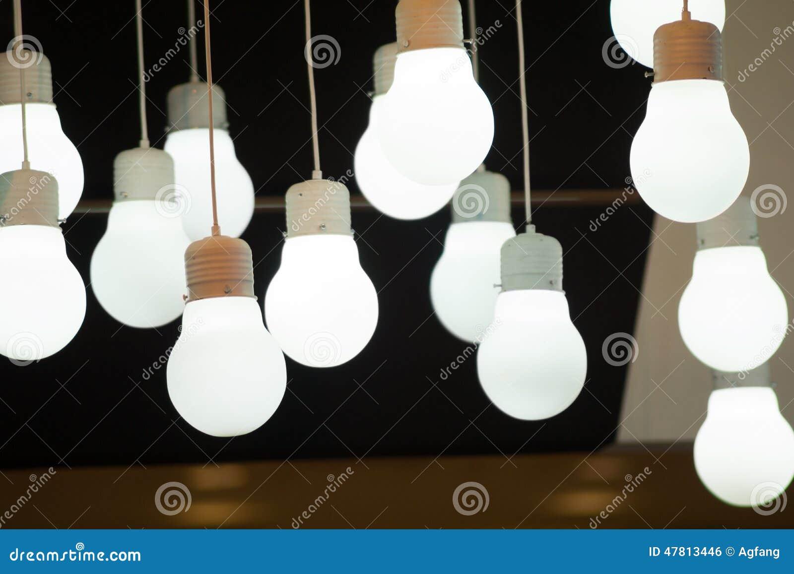 Hangende Lampen Stockfoto Bild Von Leuchtend Energie 47813446