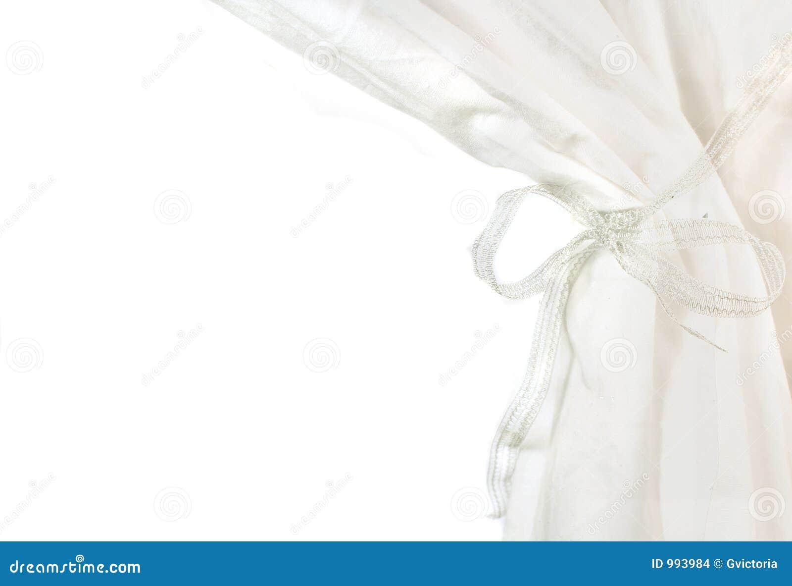 Hänger upp gardiner white