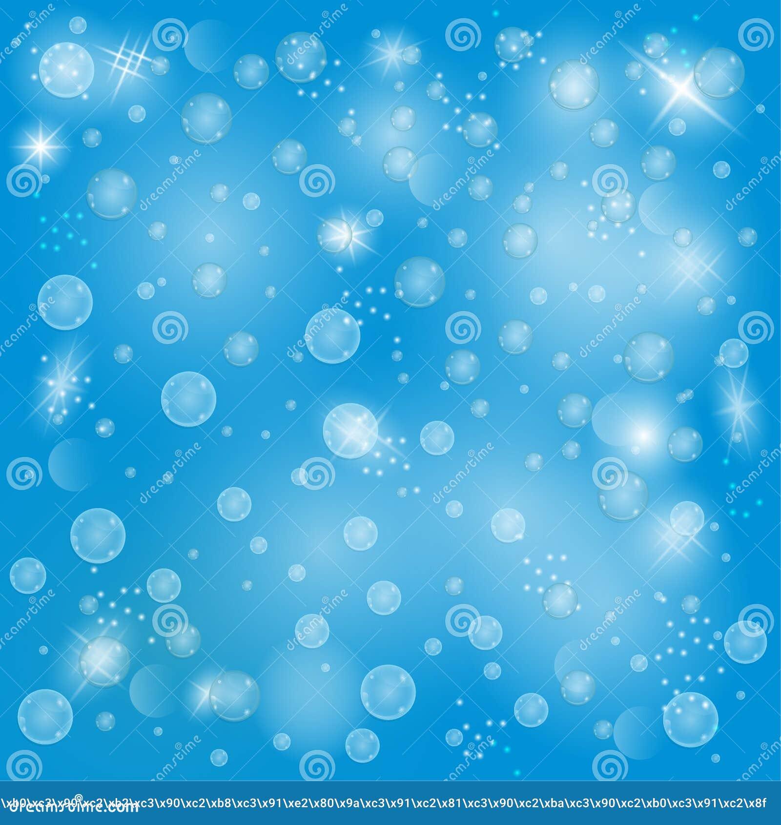 HÄRLIG ABSTRAKTION för bubblor