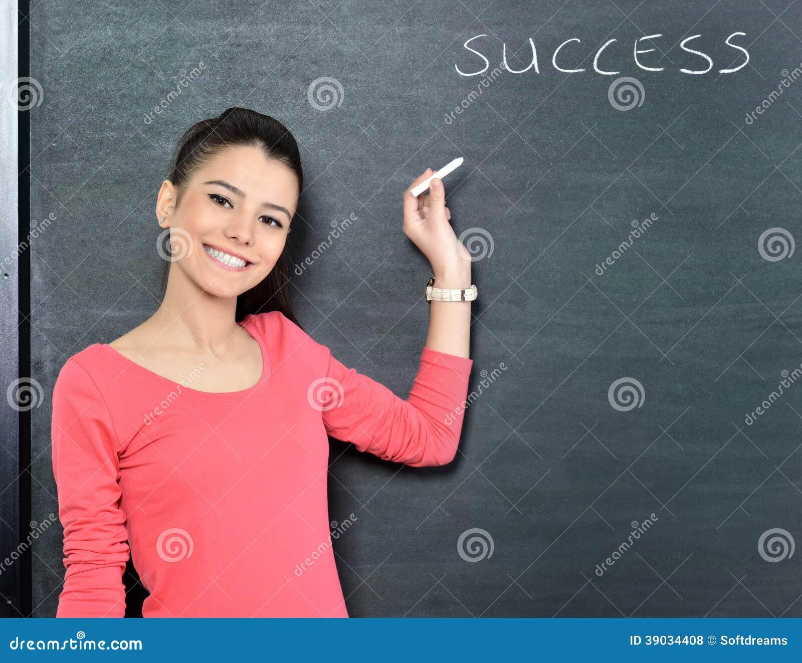 Härlig attraktiv lärarkandidat