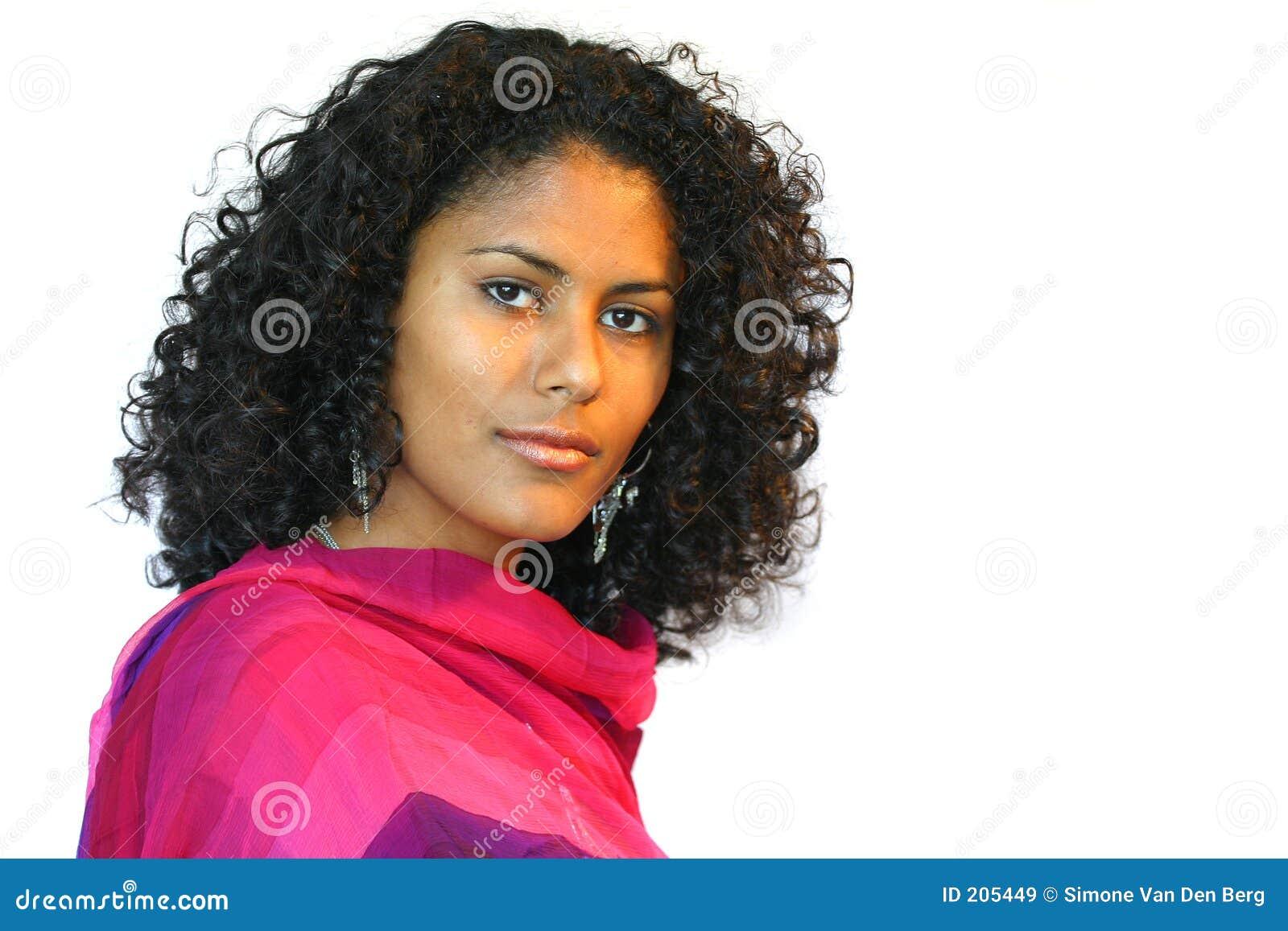 Härlig brasiliansk kvinna