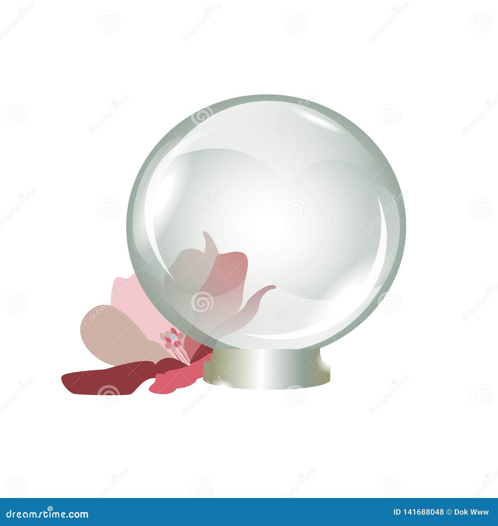Härlig gåva för genomskinlig souvenir för exponeringsglasboll