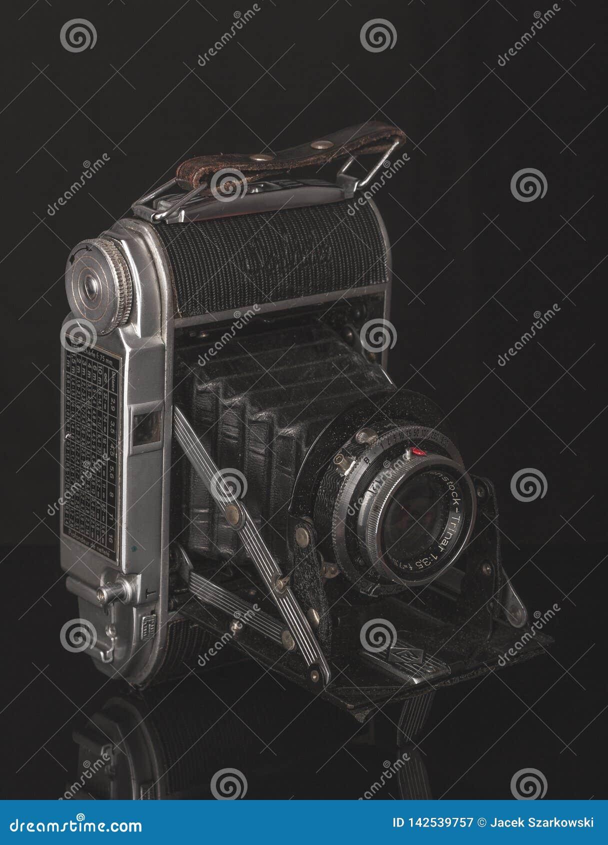 Härlig gammal fotokamera