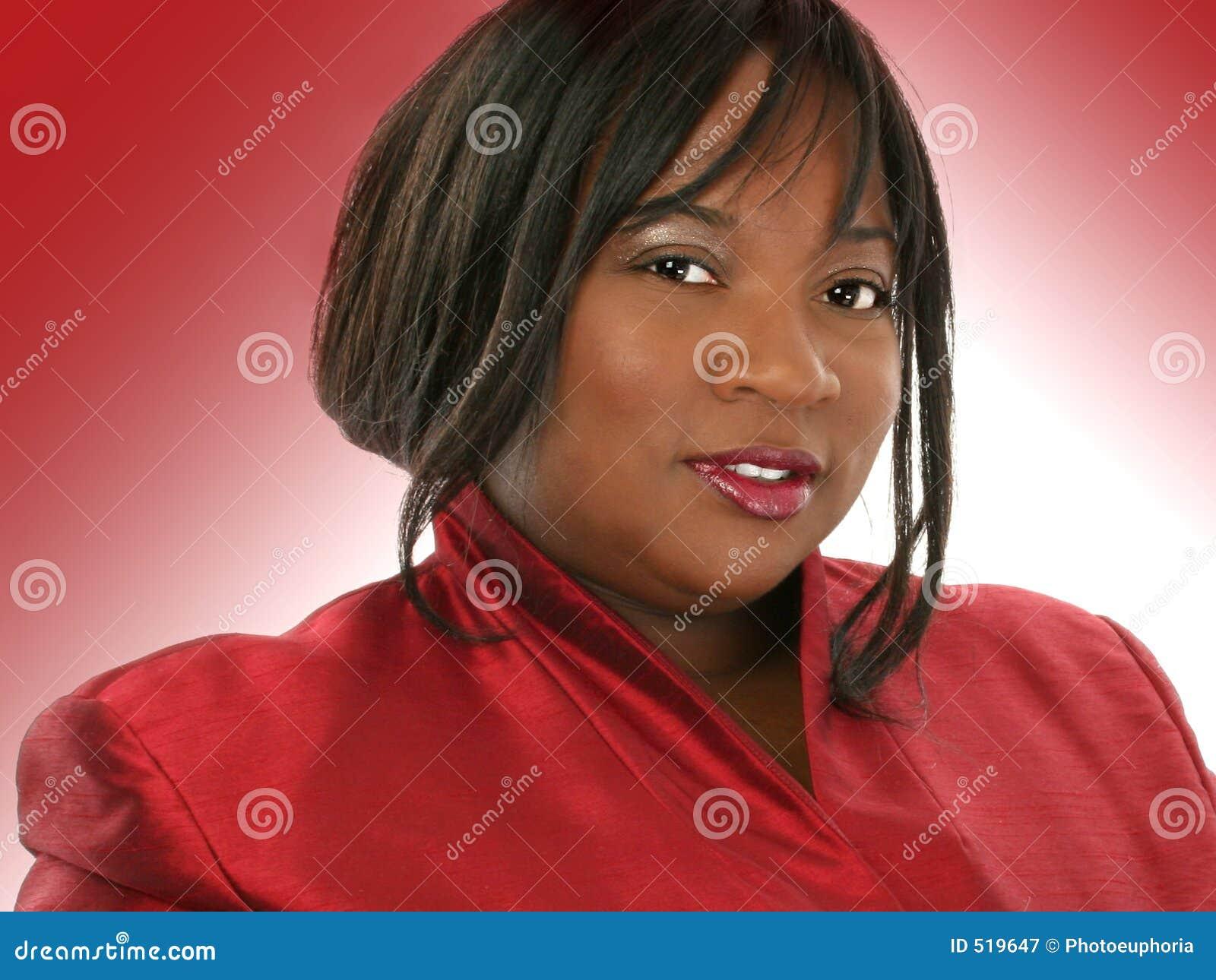 Härlig kvinna för afrikansk amerikan
