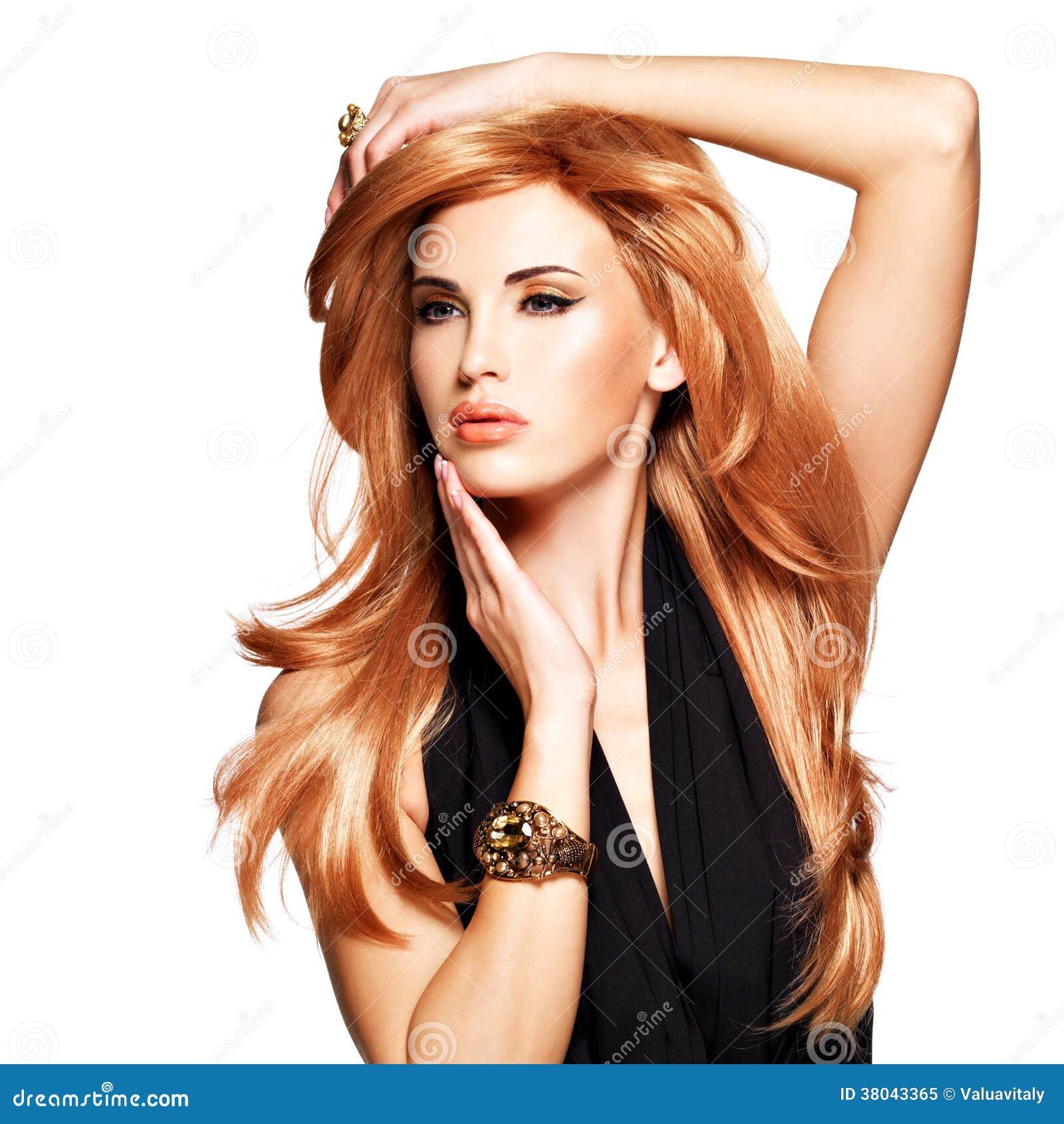profiler vuxen rött hår