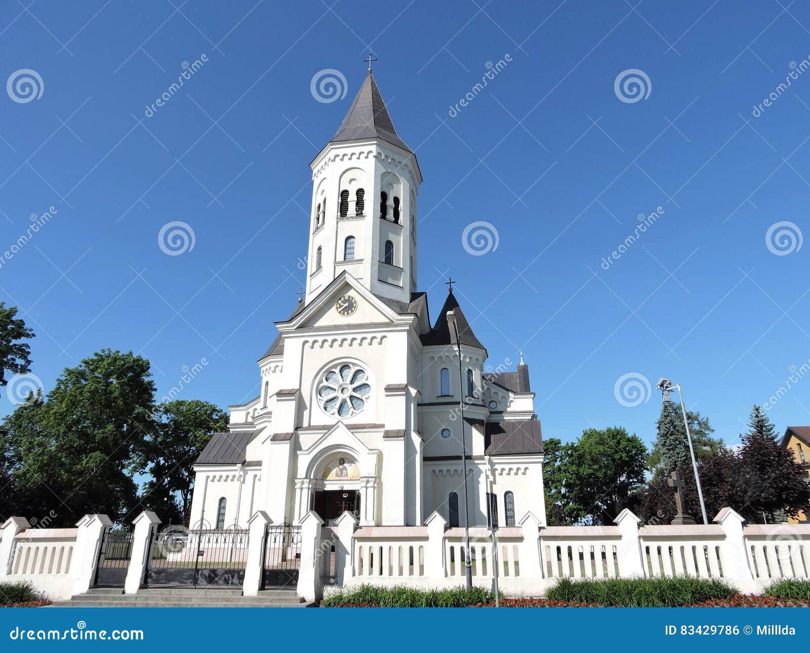 Härlig kyrka, Litauen