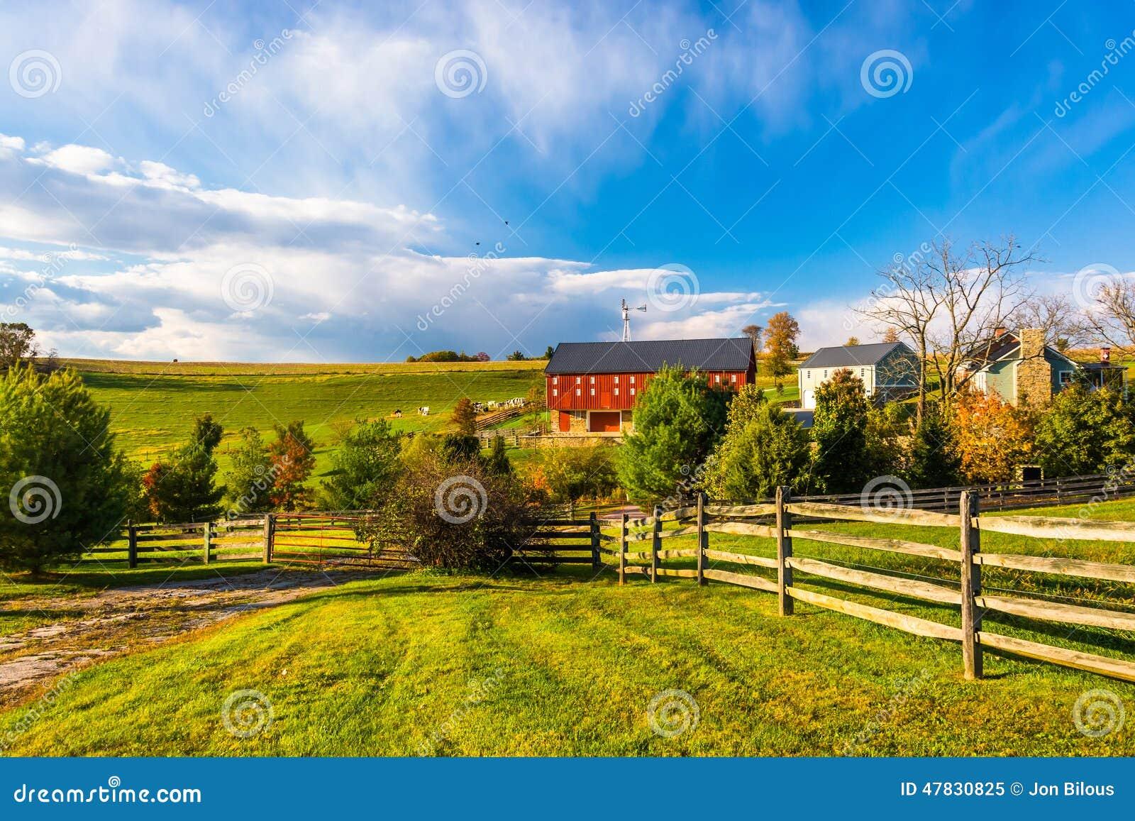 Härlig lantgård i lantliga York County, Pennsylvania
