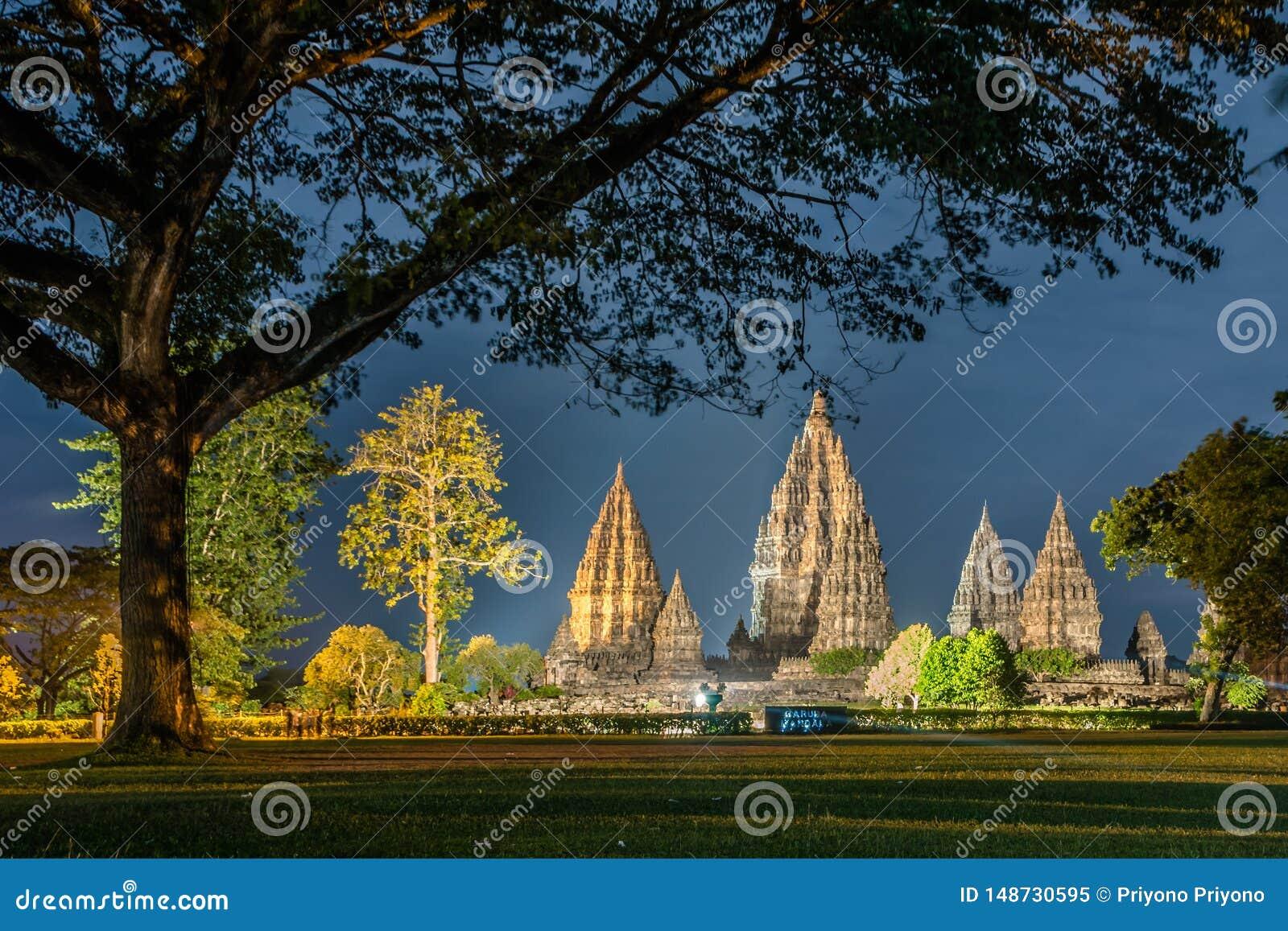 H?rlig prambanan tempel, yogyakarta, indonesia