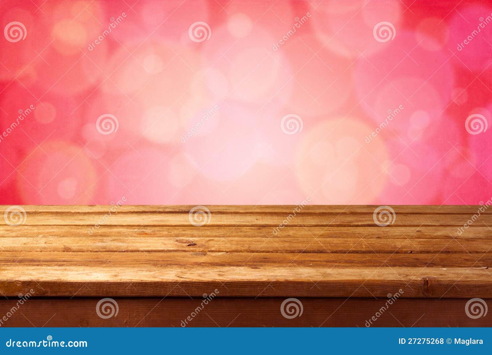 Härlig rosa bokehbakgrund