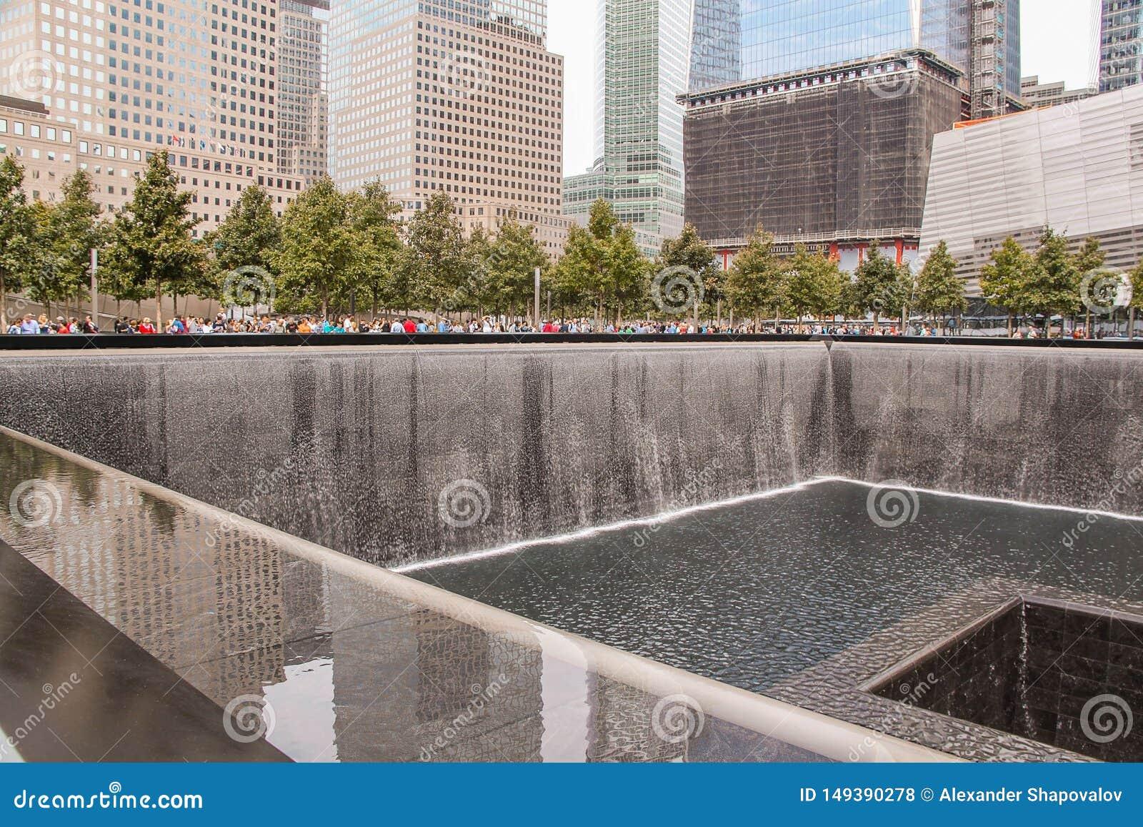 """Härlig sikt av tips för ¢s för 9/11 """"för Memorialâ⠂¬â tvilling- reflekterande r r"""
