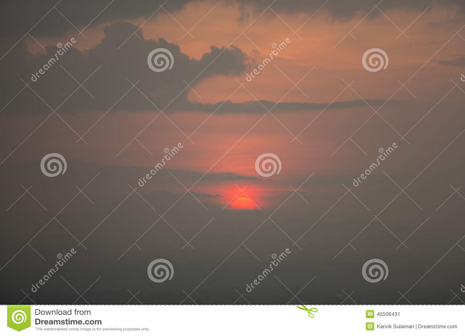 Härlig solnedgång