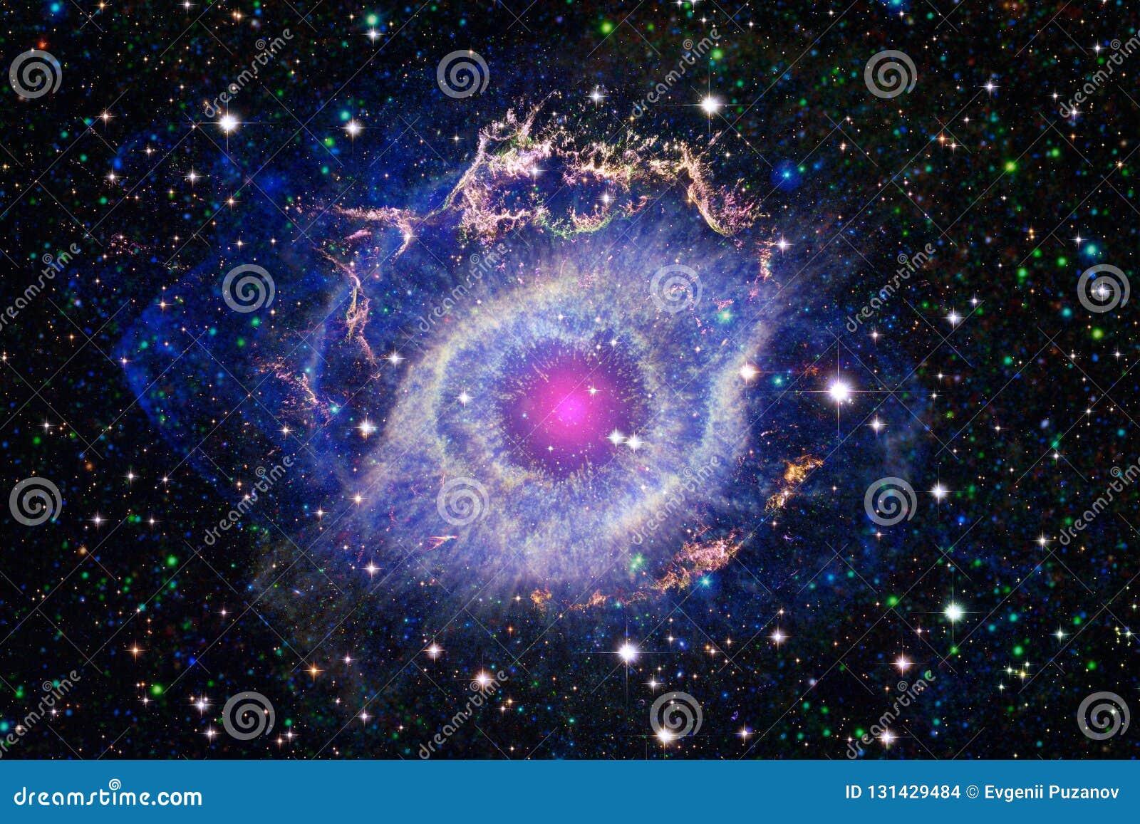 Härlig utrymmebakgrund Cosmoc konst Beståndsdelar av denna avbildar möblerat av NASA