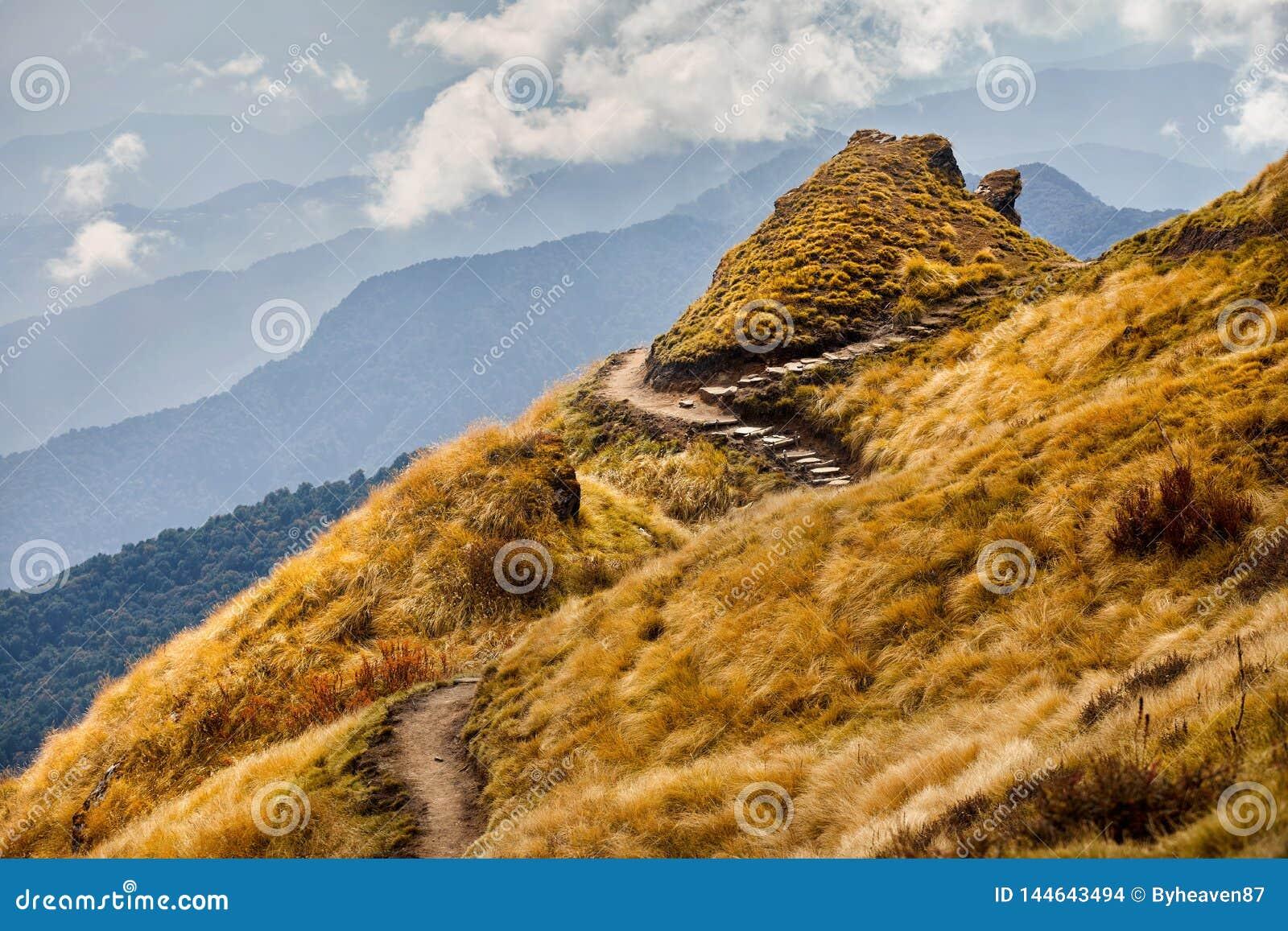 Härliga Himalayan berg