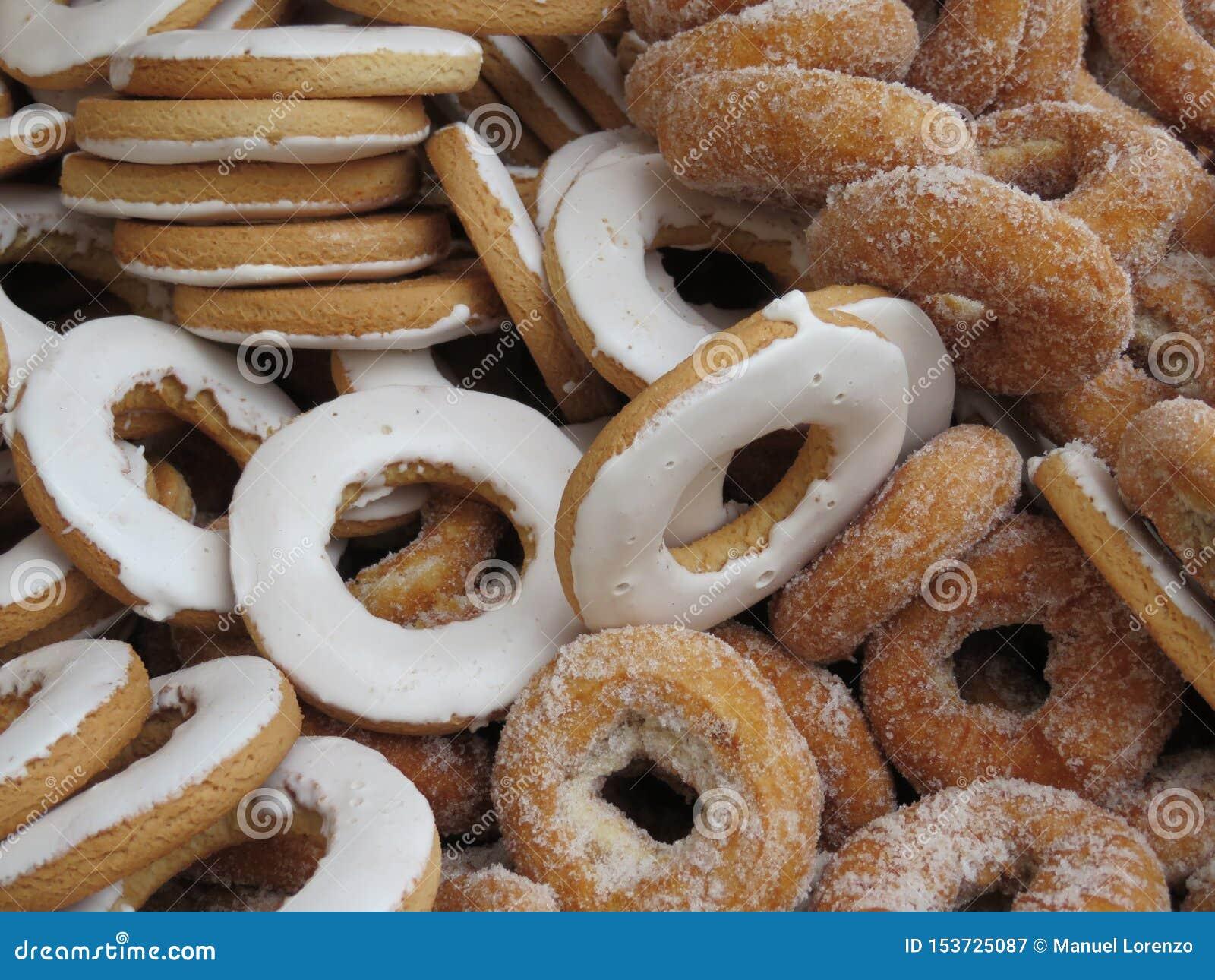 Härliga läckra donuts och mycket goda av stor smak