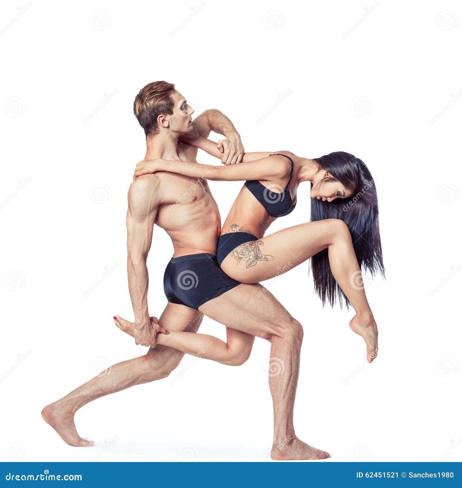 Härliga par av dansare