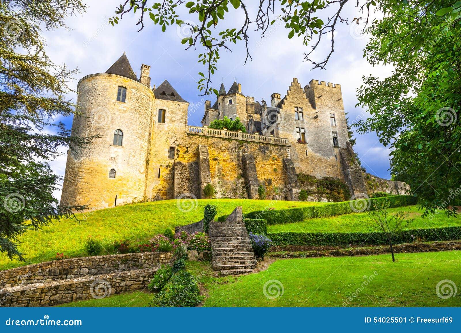 Härliga slottar av Frankrike