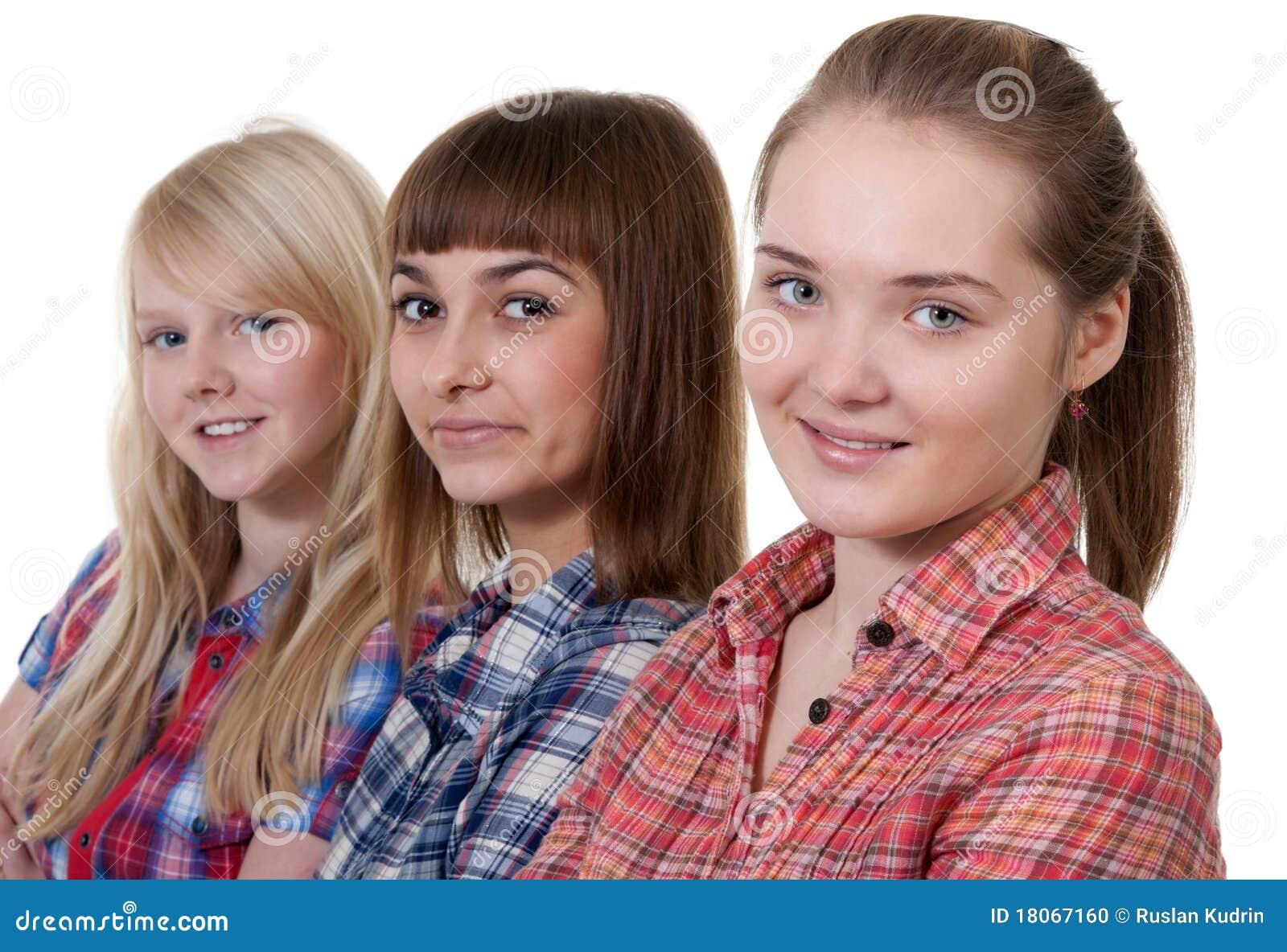Härligt barn för flicka tre