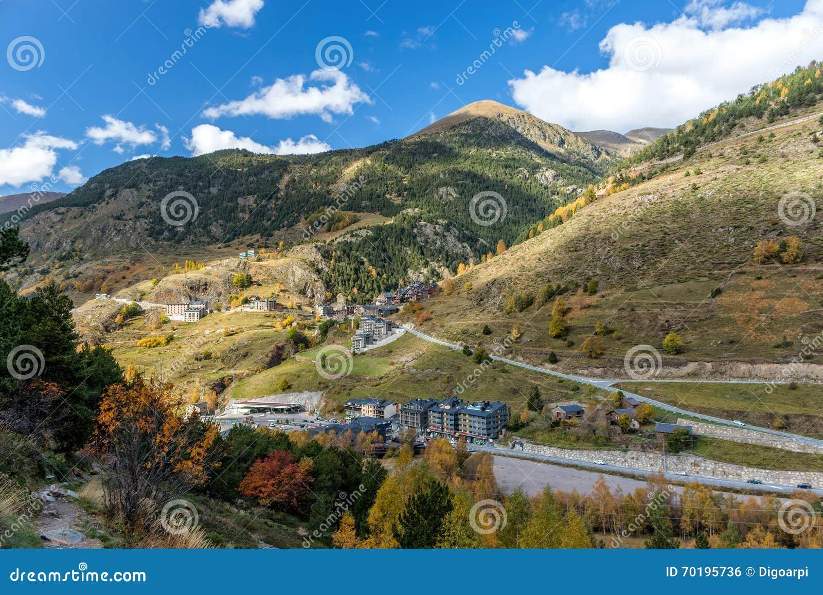 Härligt berg i Andorra
