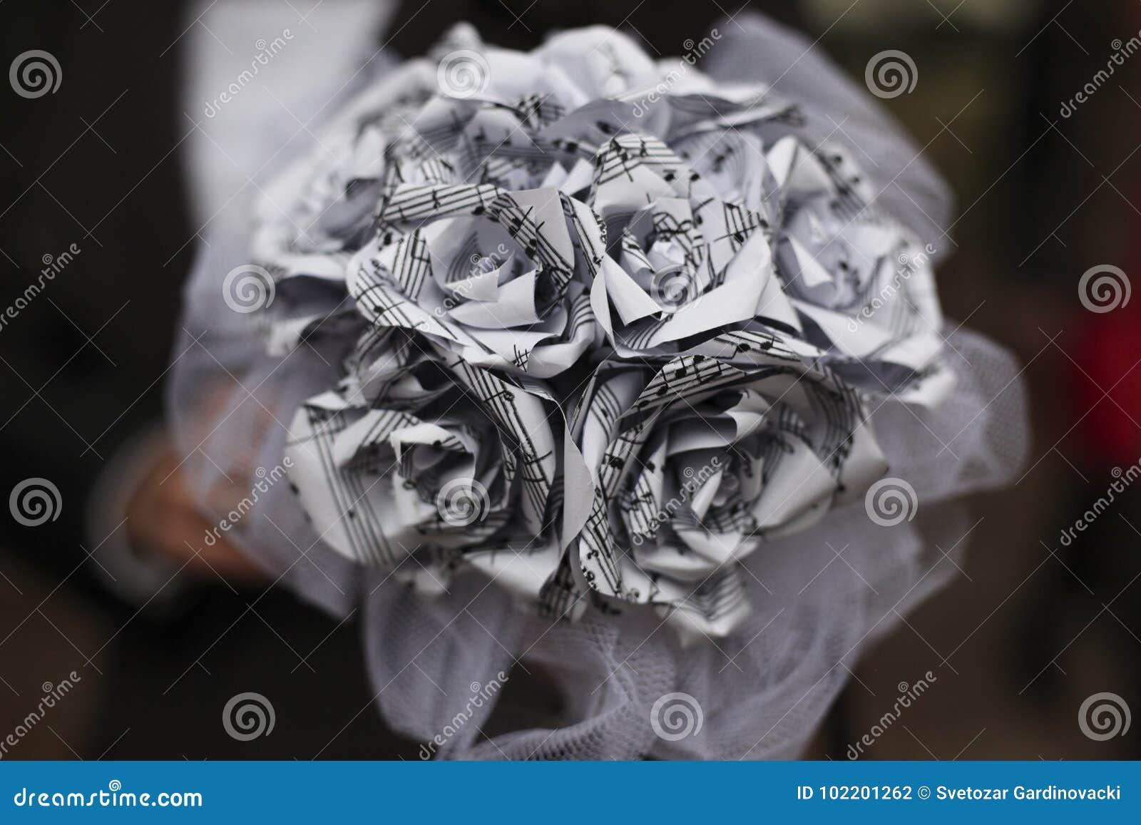 Härligt bukettbröllop