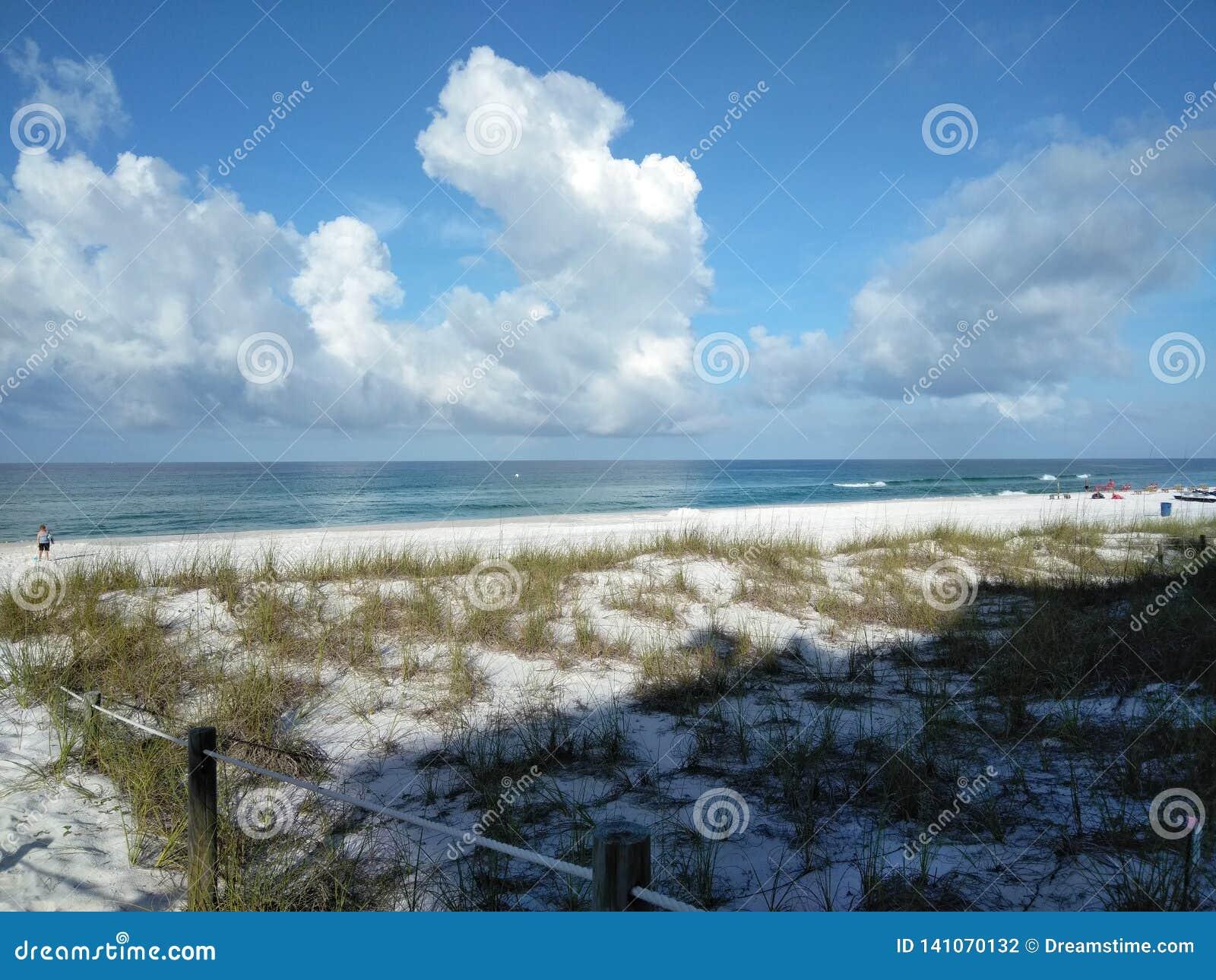 Härligt strandfoto