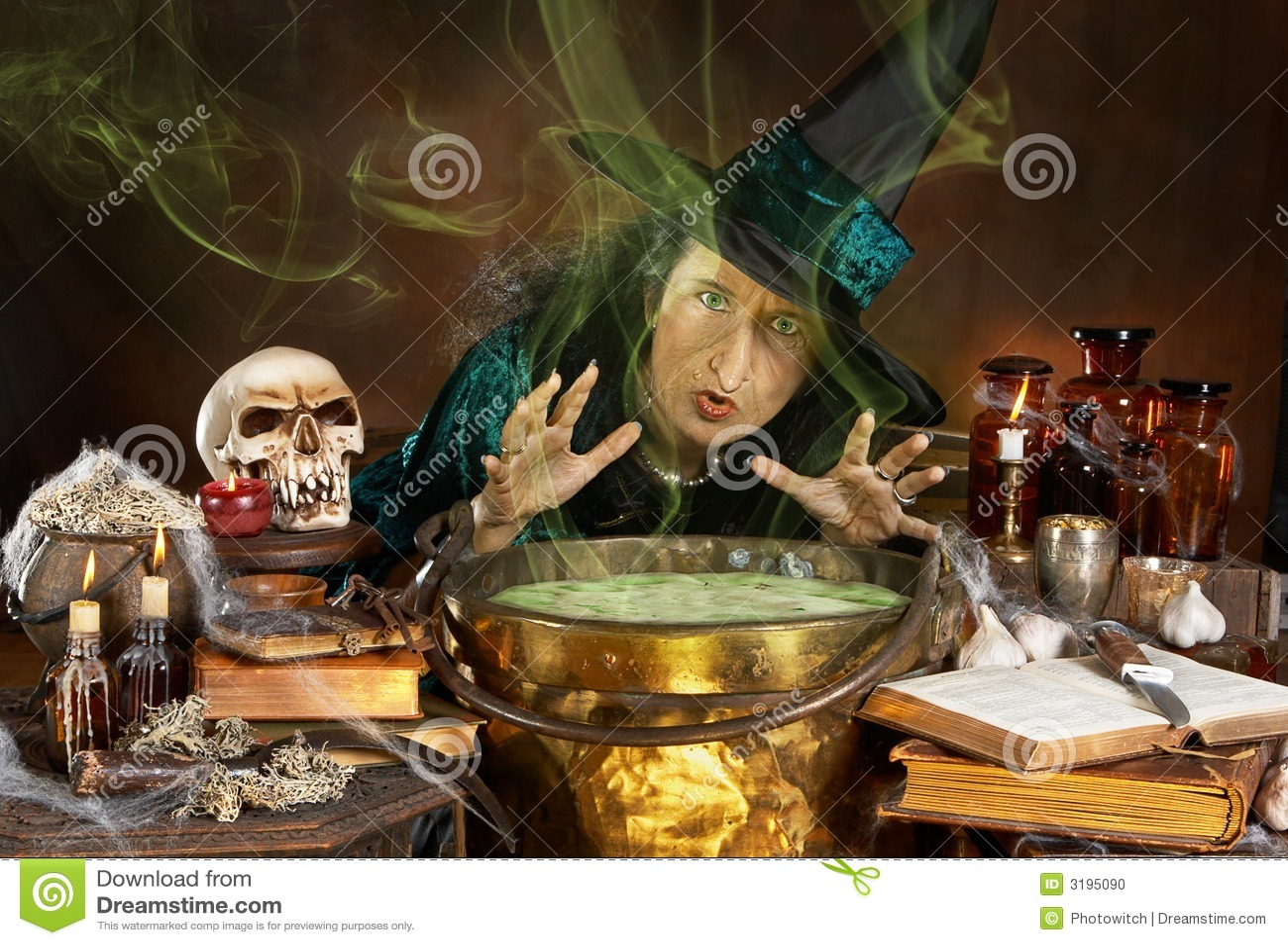 Hässliche Hexe