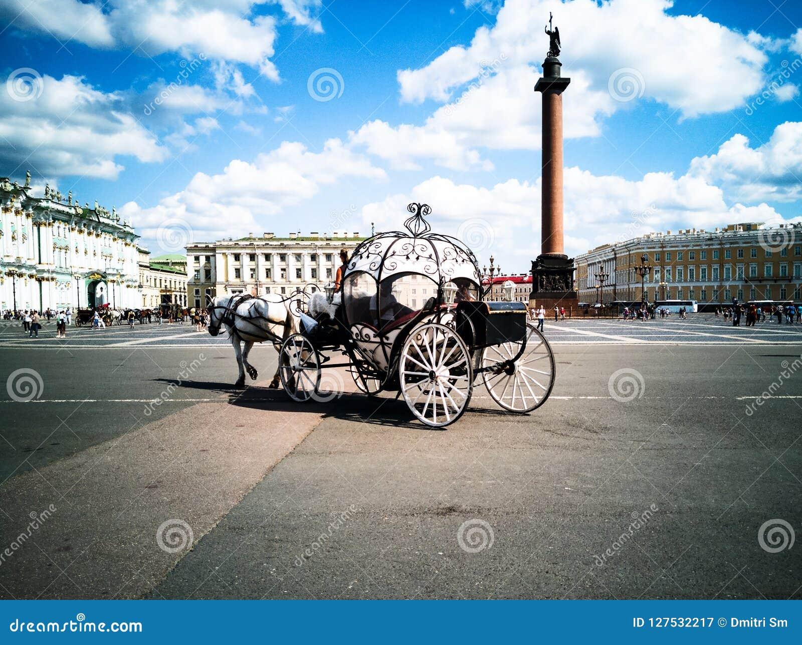 Hästdragna vagnar, slottfyrkant