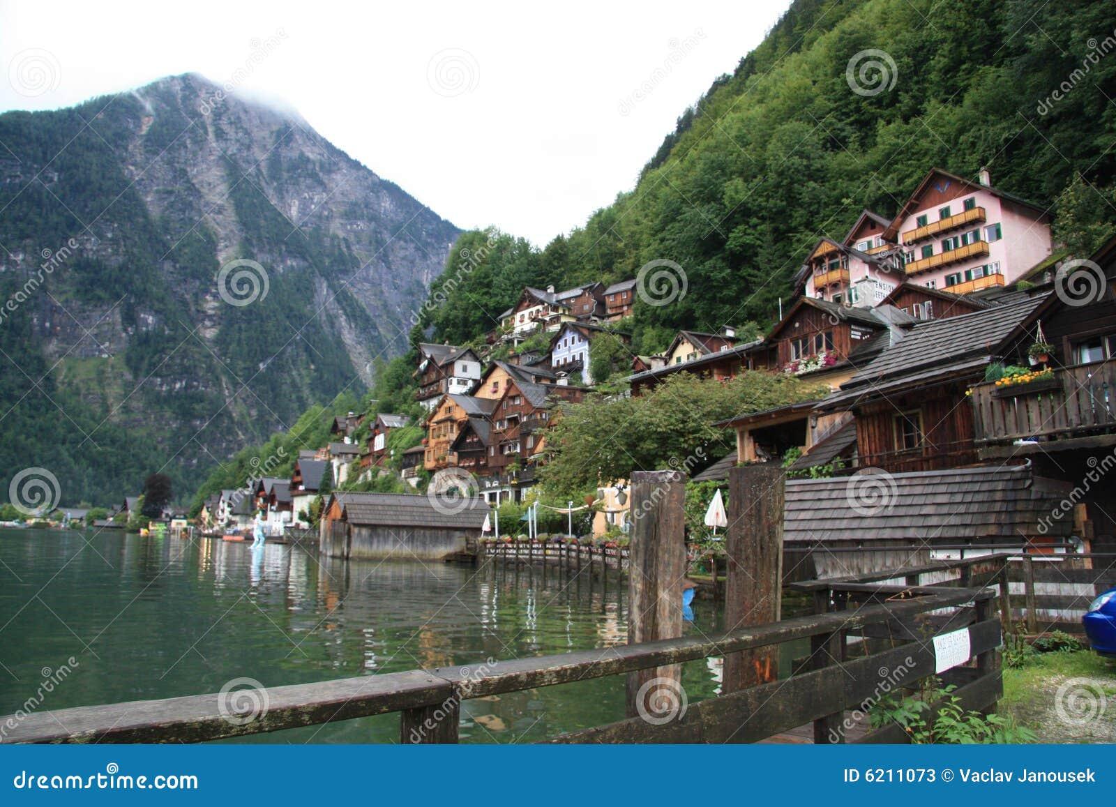 Häuser in Hallstatt