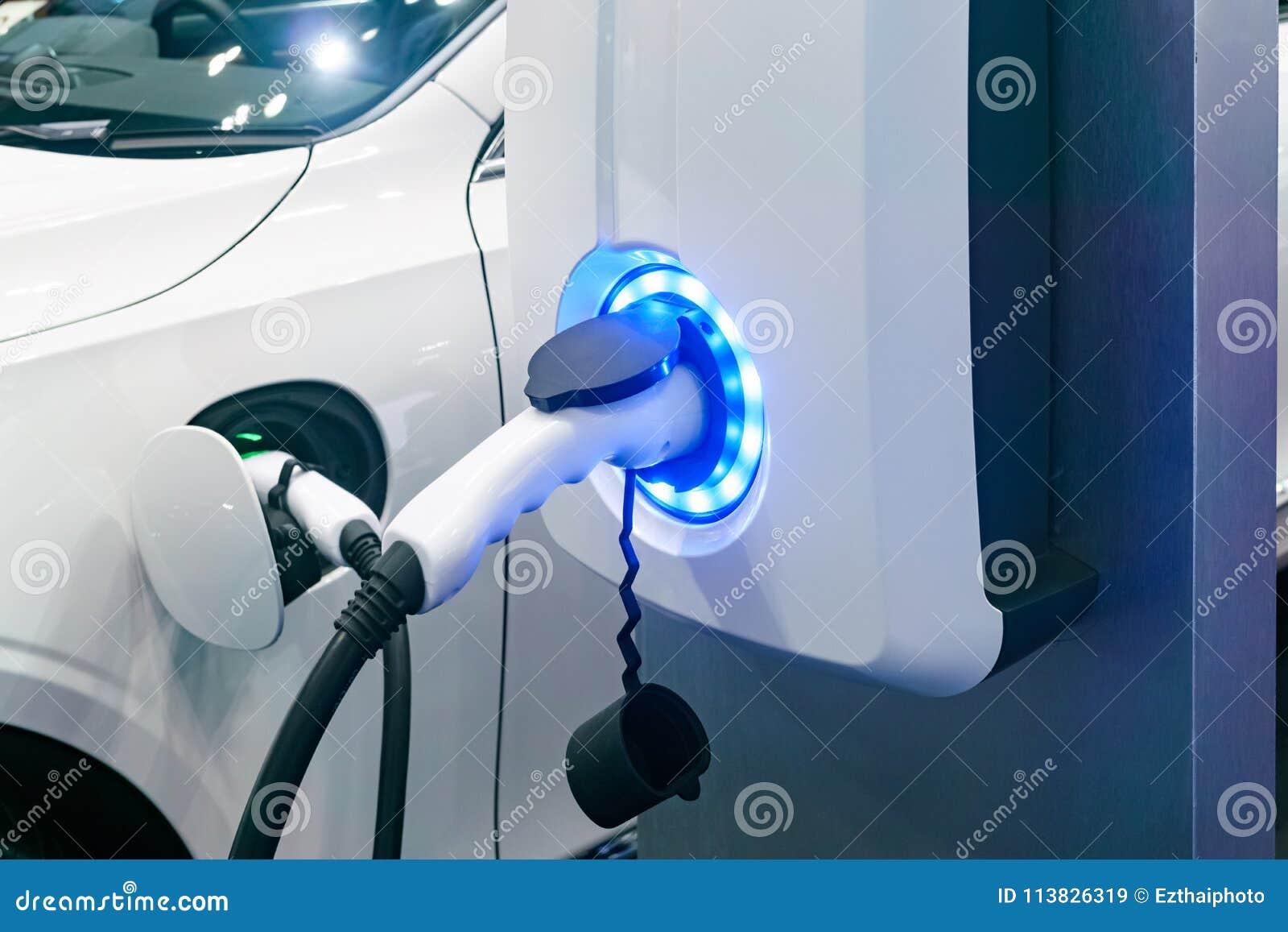 Hålighet för elektrisk bilbatteriuppladdare med påfyllningindikatorli