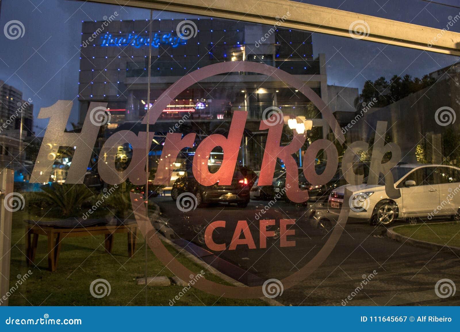 Hård rock för cafe