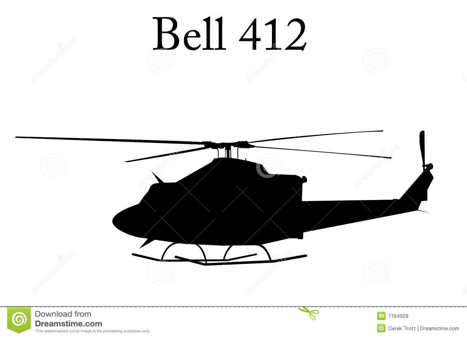 Hélicoptère de Bell 412