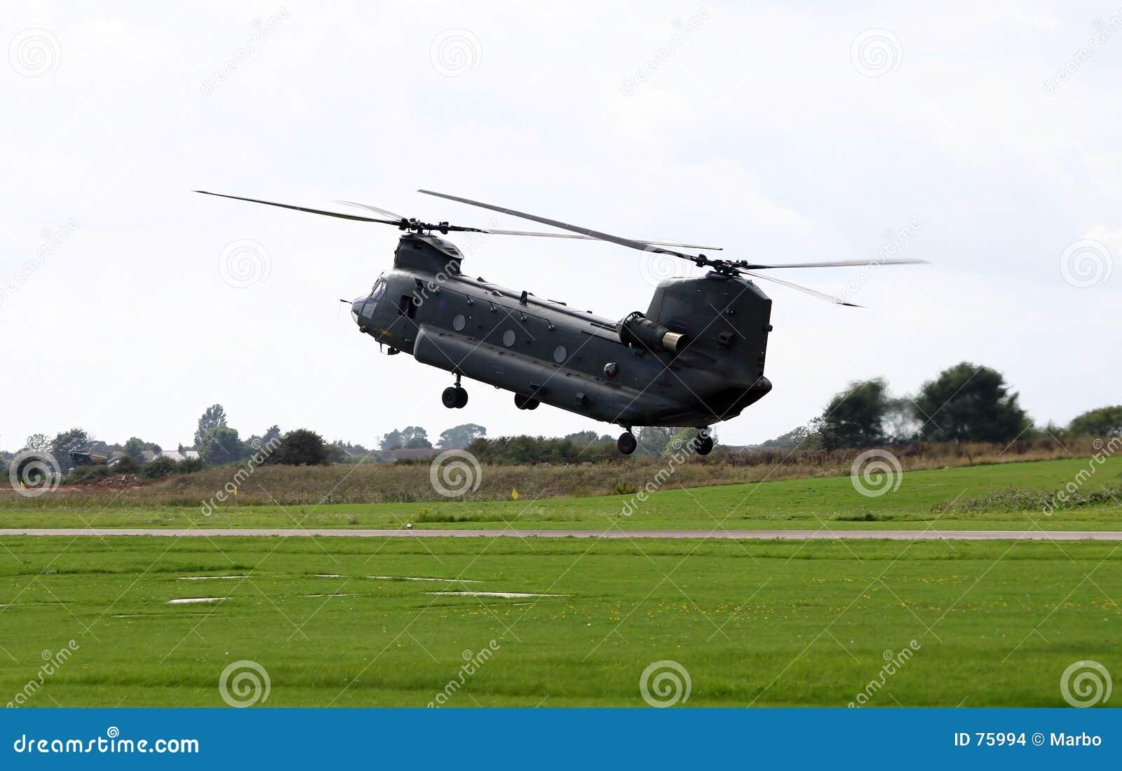 Hélicoptère de Chinook