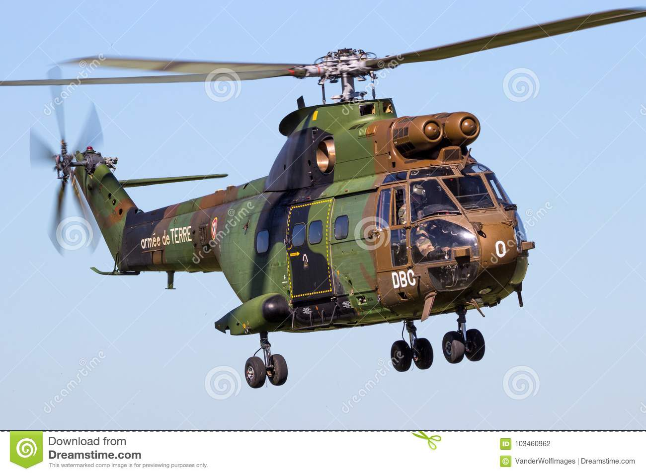 puma helicoptere