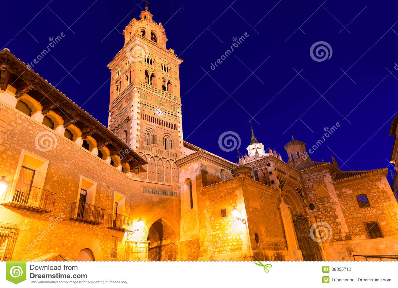 Héritage Espagne de Santa Maria Unesco de cathédrale d Aragon Teruel