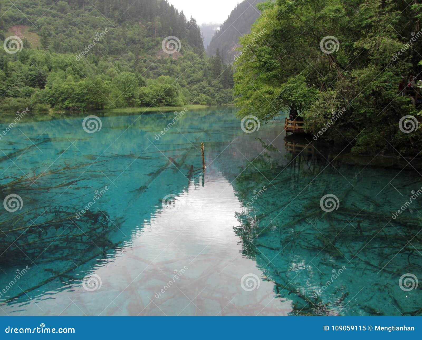 Héritage naturel de Jiuzhaigou-monde