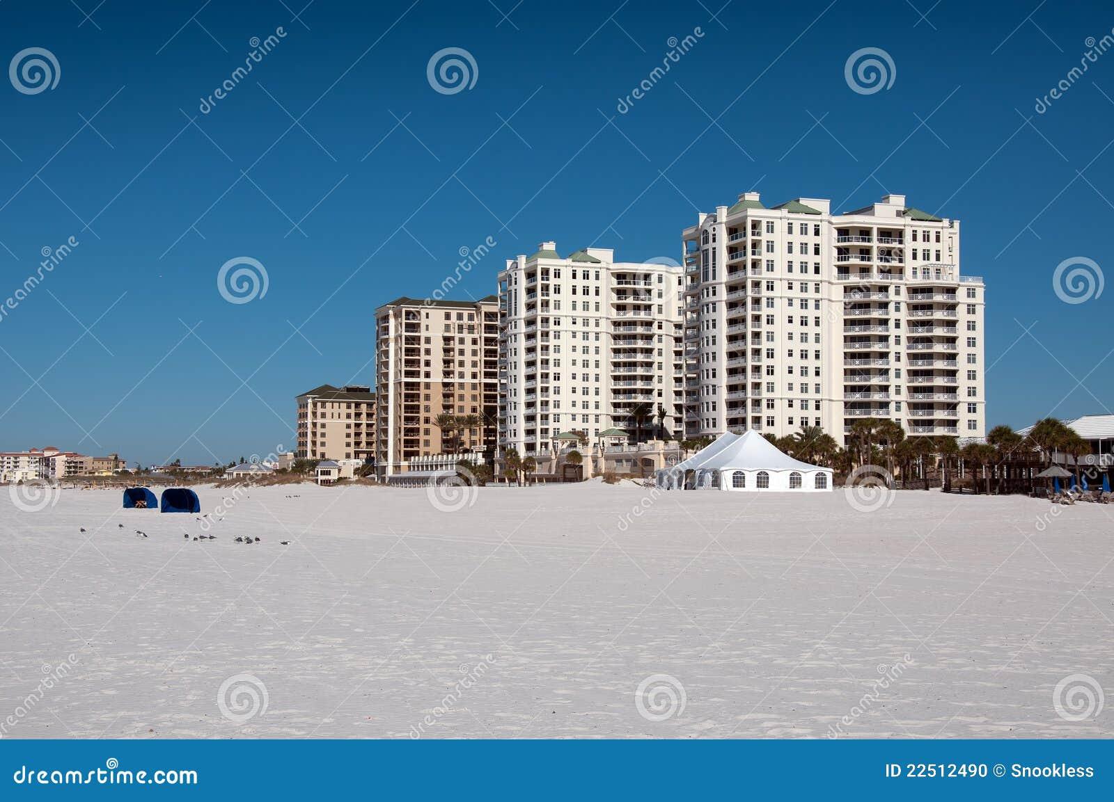 Hôtel à la plage de Clearwater