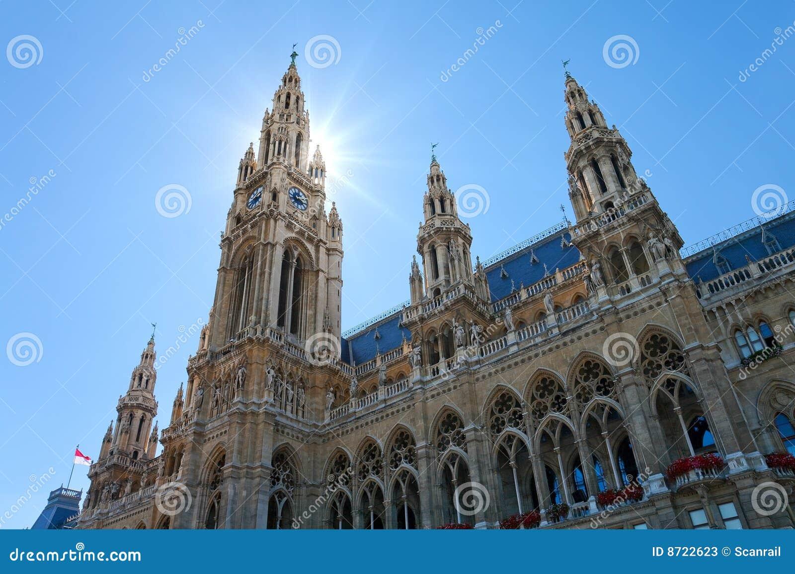 Hôtel de ville de l Autriche Vienne