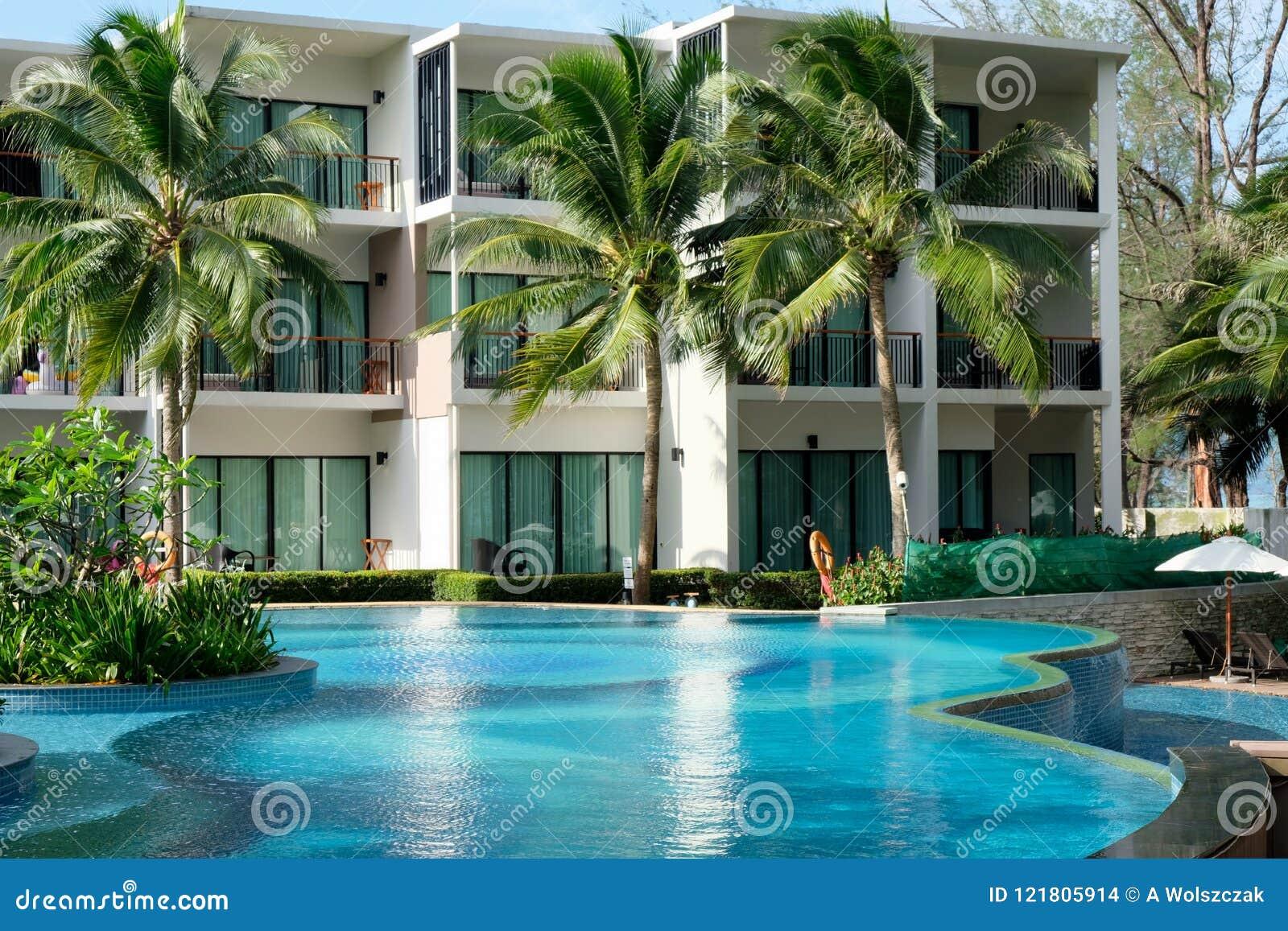 Hôtel moderne en Thaïlande sur Phuket
