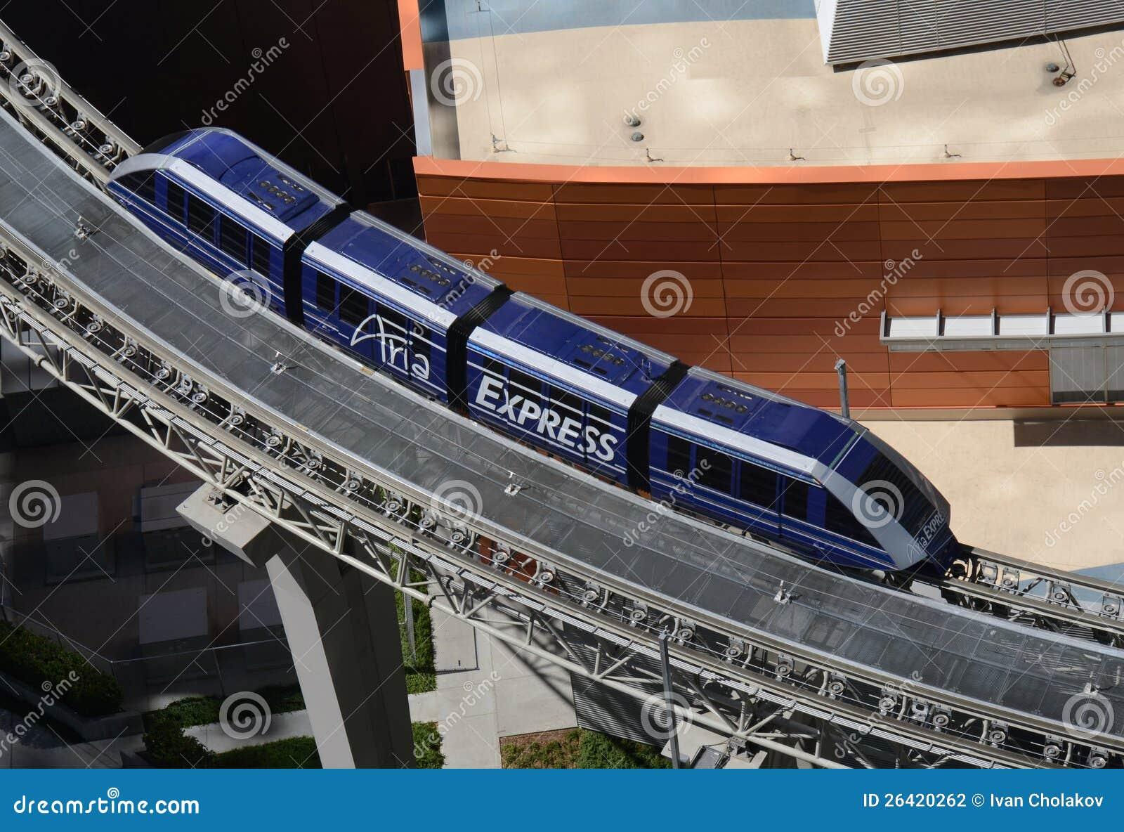 Hôtels se connectants de monorail à Las Vegas
