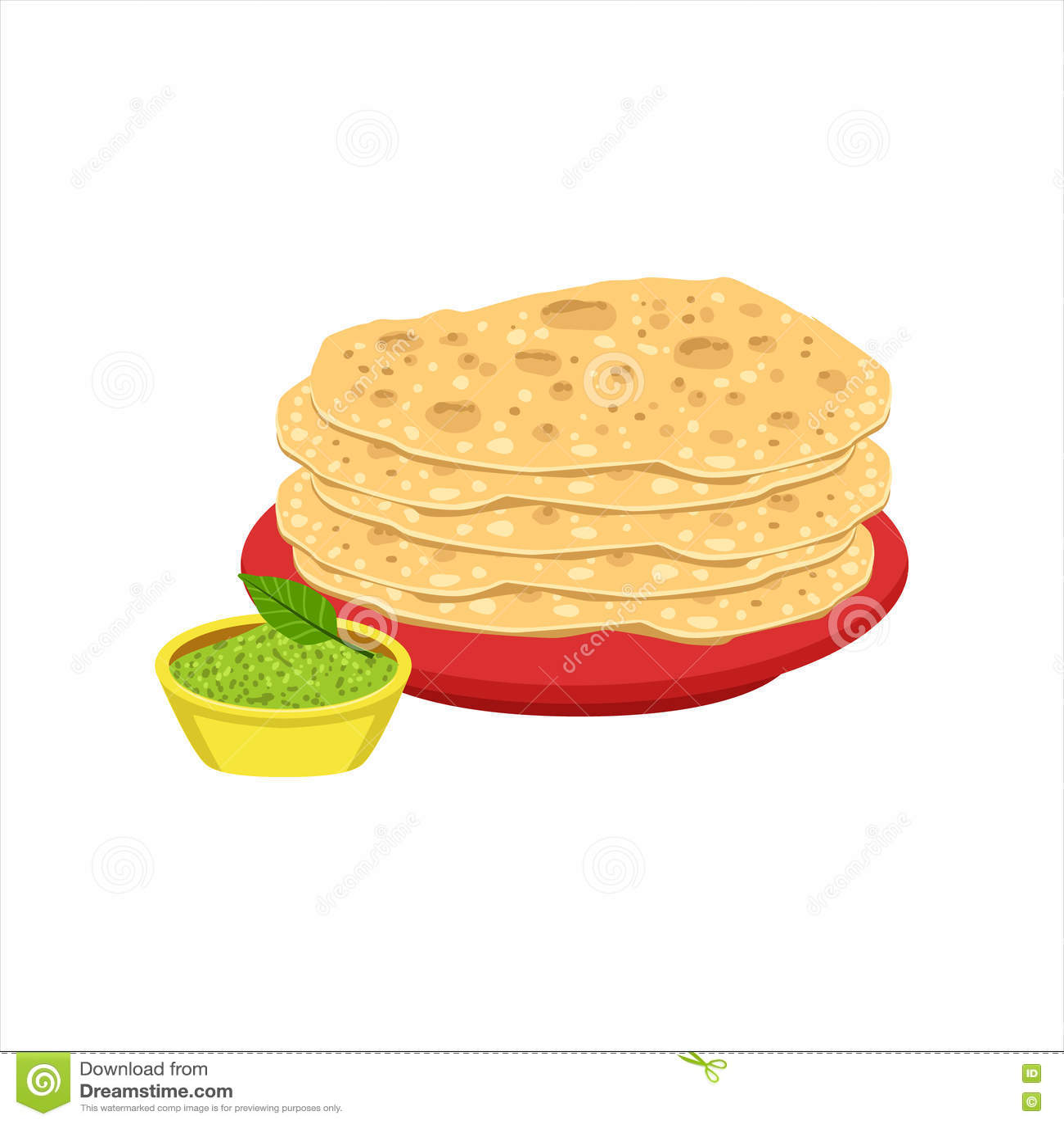 Hög av objektet för mat för maträtt för kokkonst för tortillabröd det traditionella mexicanska från illustration för kafémenyvekt