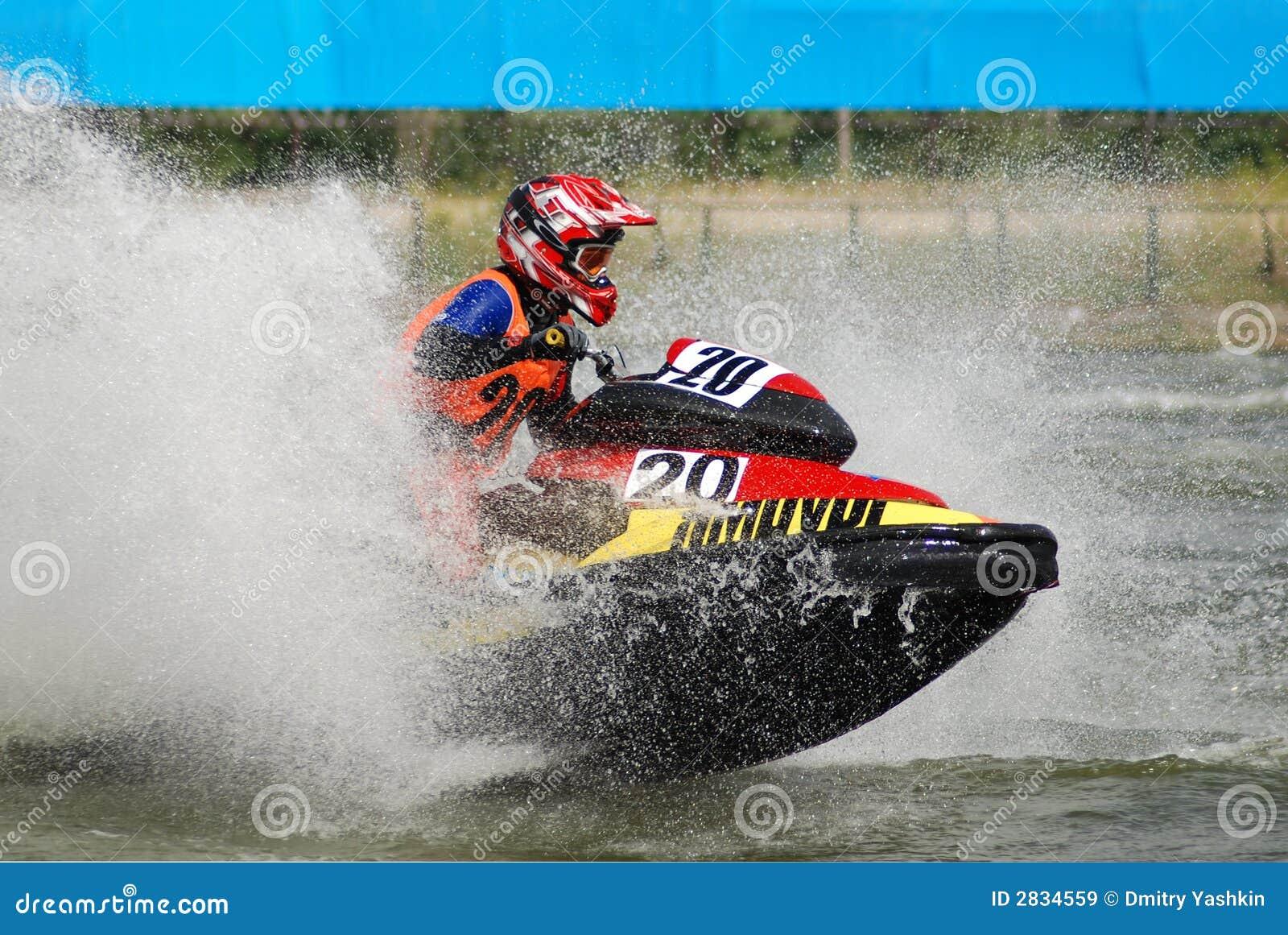 Hög hastighet jetski6