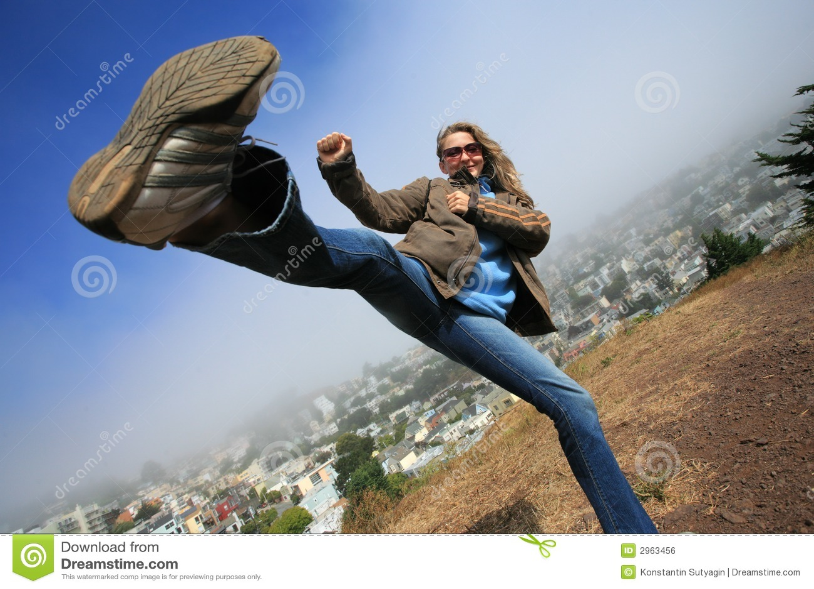 Hög kick
