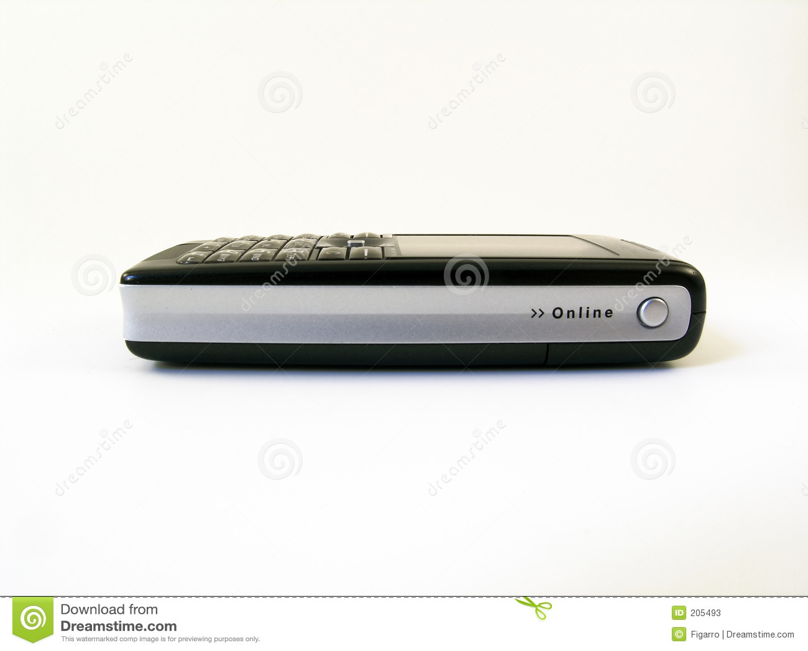 Hög mobil sikt för telefonsidotech