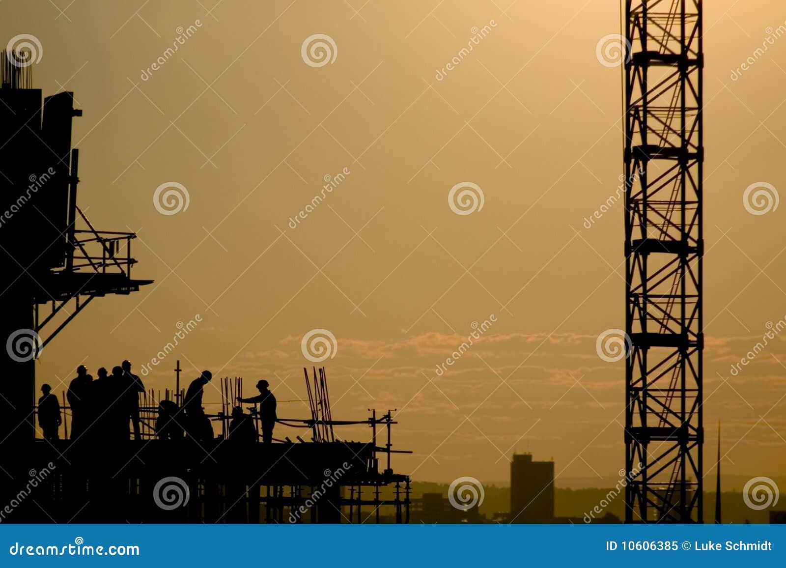 Hög stigning för konstruktion