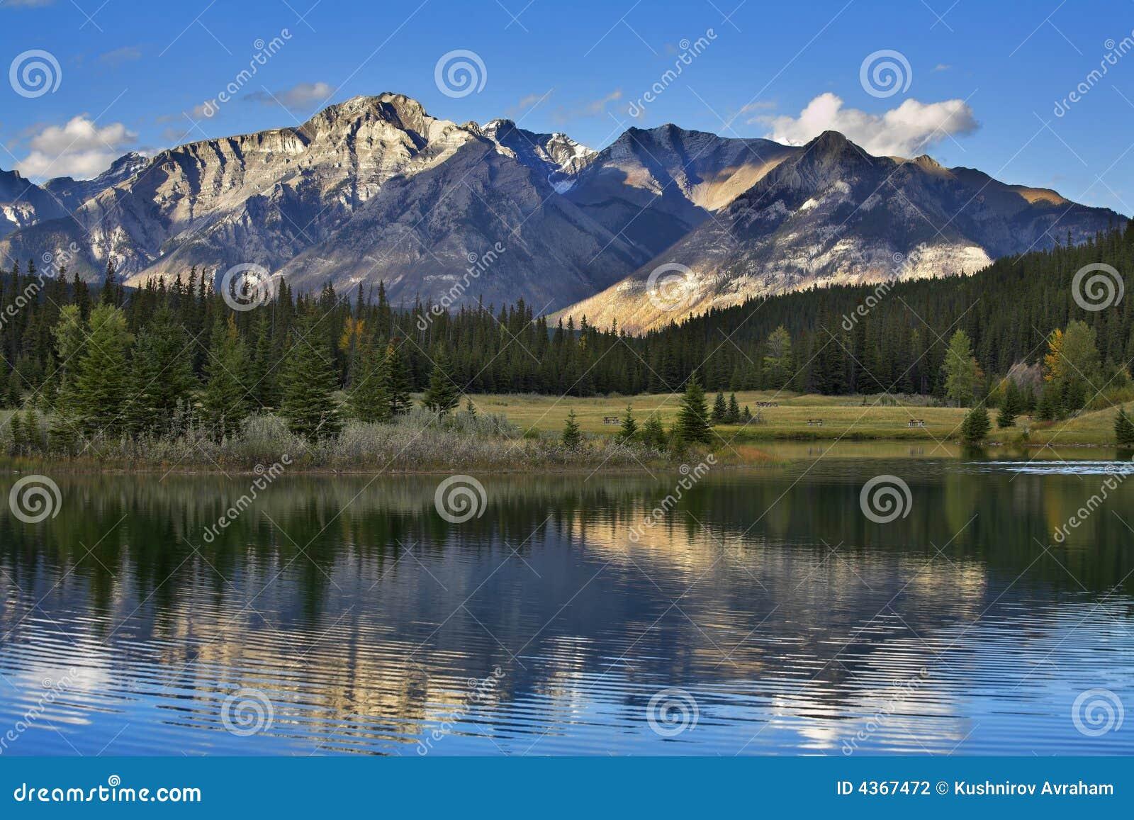Höga berg